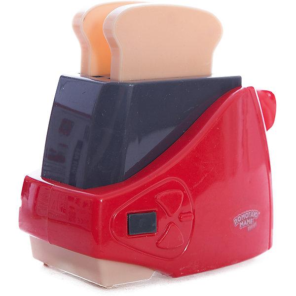 Тостер с хлебом, со светом и звуком, ABtoysИгрушечная бытовая техника<br>Тостер с хлебом, со светом и звуком, ABtoys (АБтойс)<br><br>Характеристики:<br><br>• световые эффекты<br>• реалистичные звуки<br>• в комплекте: тостер, хлеб<br>• материал: пластик<br>• батарейки : АА - 2 шт. (не входят в комплект)<br>• размер упаковки: 15,5х9х17 см<br>• вес: 200 грамм<br><br>Тостер от популярного бренда ABtoys - реалистичная игрушка, которая обязательно порадует маленьких помощников. Он очень похож на свой прототип и имеет световые и звуковые эффекты, напоминающие работу настоящего тостера. Прибор имеет рычаг необходимый для правильной работы. В комплект входят два кусочка хлеба, которые ребенок сможет приготовить, чтобы угостить игрушки. Играя с бытовой техникой, ребенок научится помогать маме. Для работы необходимы две батарейки АА (не входят в комплект).<br><br>Тостер с хлебом, со светом и звуком, ABtoys (АБтойс) вы можете купить в нашем интернет-магазине.<br>Ширина мм: 155; Глубина мм: 90; Высота мм: 170; Вес г: 200; Возраст от месяцев: 36; Возраст до месяцев: 2147483647; Пол: Женский; Возраст: Детский; SKU: 5571428;
