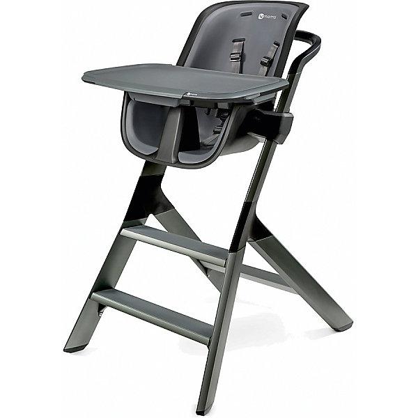 Стульчик для кормления High chair, 4moms, стальнойСтульчики для кормления<br>Характеристики товара:<br><br>• возраст от 6 месяцев;<br>• максимальный вес ребенка 27 кг;<br>• материал: пластик;<br>• регулируемое по высоте сидение в 3 положениях;<br>• регулировка глубины столешницы в 3 положениях;<br>• магнитный столик;<br>• 5-ти точечные ремни безопасности;<br>• страна производитель: США<br><br>Стульчик для кормления 4moms High Chair стальной отличается необычной столешницей, которая устанавливается на стульчик при помощи магнитов, что облегчает процесс крепления ее на стульчик. Специальная фирменная посуда для кормления также удерживается на столешнице при помощи магнитов, не позволяя малышу случайно уронить тарелку с едой или стакан с напитком. В сидении ребенок удерживается 5-ти точечным ремнем безопасности, который подгоняется под рост малыша. Чехол снимается и стирается в стиральной машине.<br><br>Размер стульчика 101х71х56 см<br>Вес стульчика 6,8 кг<br>Размер упаковки 96х56х71 см<br>Вес упаковки 7,4 кг<br><br>Комплектация:<br><br>• стул;<br>• столешница;<br>• плошка с крышкой на магнитах.<br><br>Стульчик для кормления 4moms High Chair стальной можно приобрести в нашем интернет-магазине.<br><br>Ширина мм: 960<br>Глубина мм: 560<br>Высота мм: 710<br>Вес г: 7400<br>Возраст от месяцев: 0<br>Возраст до месяцев: 36<br>Пол: Унисекс<br>Возраст: Детский<br>SKU: 5572094