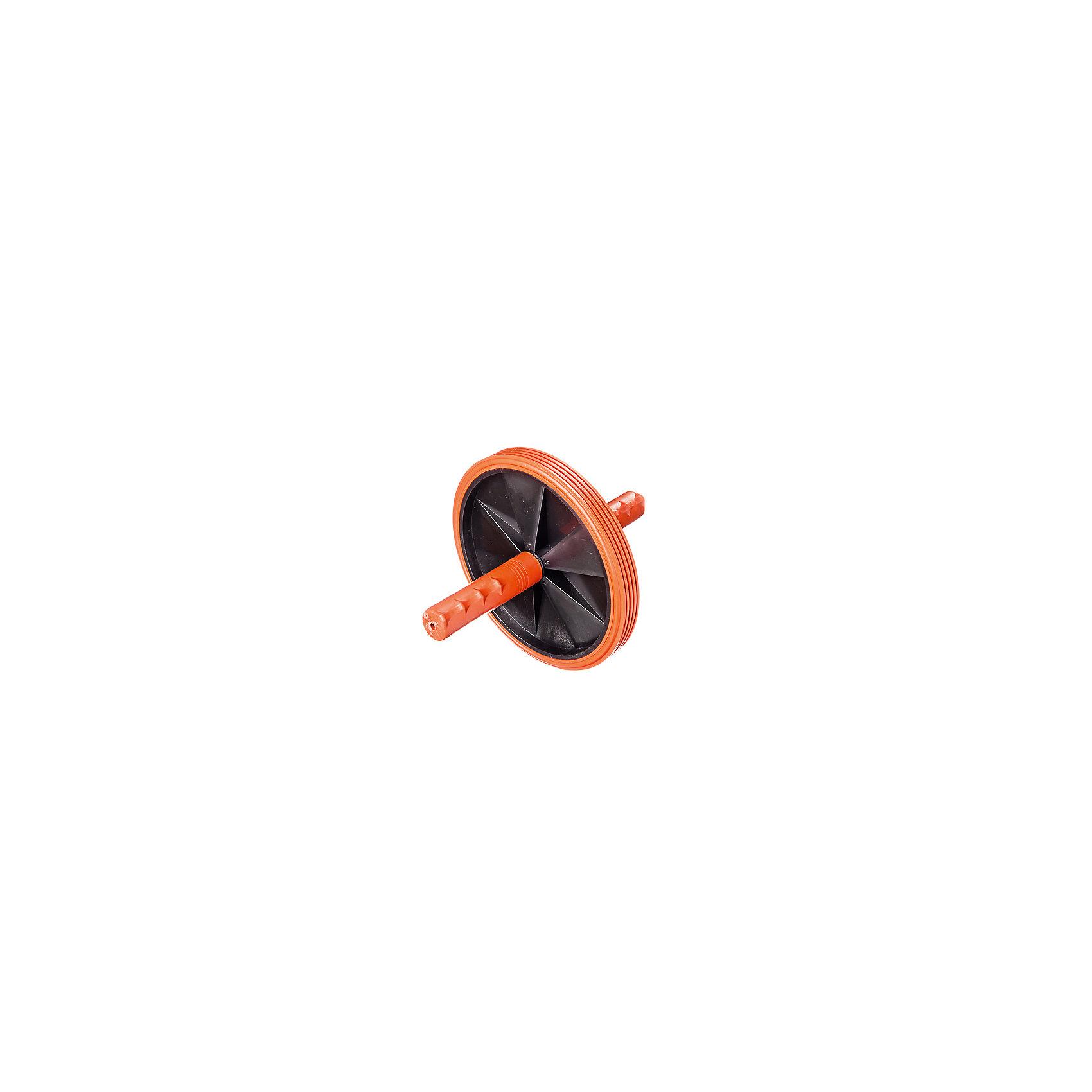 Ролик-каток гимнастическийТренажёры<br>Характеристики товара:<br><br>• материалы: стержень - металическая трубка, ручки и колеса - пластмасса, шинка - полиэтилен<br>• диаметр колеса: 18,5см<br>• максимальная нагрузка: 120кг<br>• страна-производитель: Россия<br>• упаковка: термоусадочная пленка с ярким информационным вкладышем и подвесом <br><br>Ролик гимнастический - универсальный тренажер, который предназначен для развития и укрепления мышц брюшного пресса, спины, бедер, рук, плечевого пояса. <br><br>Компактный и легкий в применении, ролик прекрасно подходит для занятий в домашних условиях. <br><br>Ролик состоит из металлического стержня, пластикового диска и съемных нескользящих ручек, имеющих эргономичную форму.<br><br> Ролик практически не занимает места, поэтому его удобно хранить дома и брать с собой в поездки.<br><br>Ролик-каток гимнастический можно купить в нашем интернет-магазине.<br><br>Ширина мм: 210<br>Глубина мм: 225<br>Высота мм: 25<br>Вес г: 550<br>Возраст от месяцев: 36<br>Возраст до месяцев: 2147483647<br>Пол: Унисекс<br>Возраст: Детский<br>SKU: 5574433