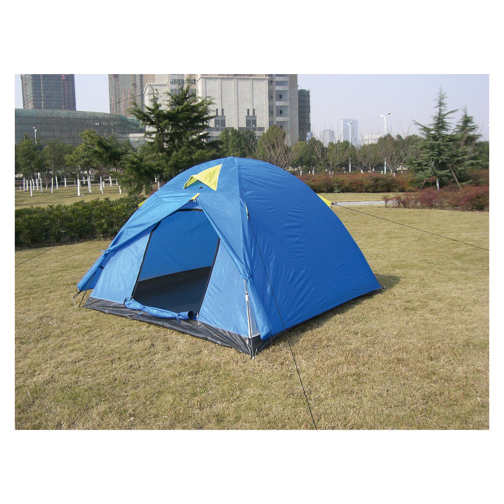 Палатка 3-х местная двуслойная, Reka от myToys