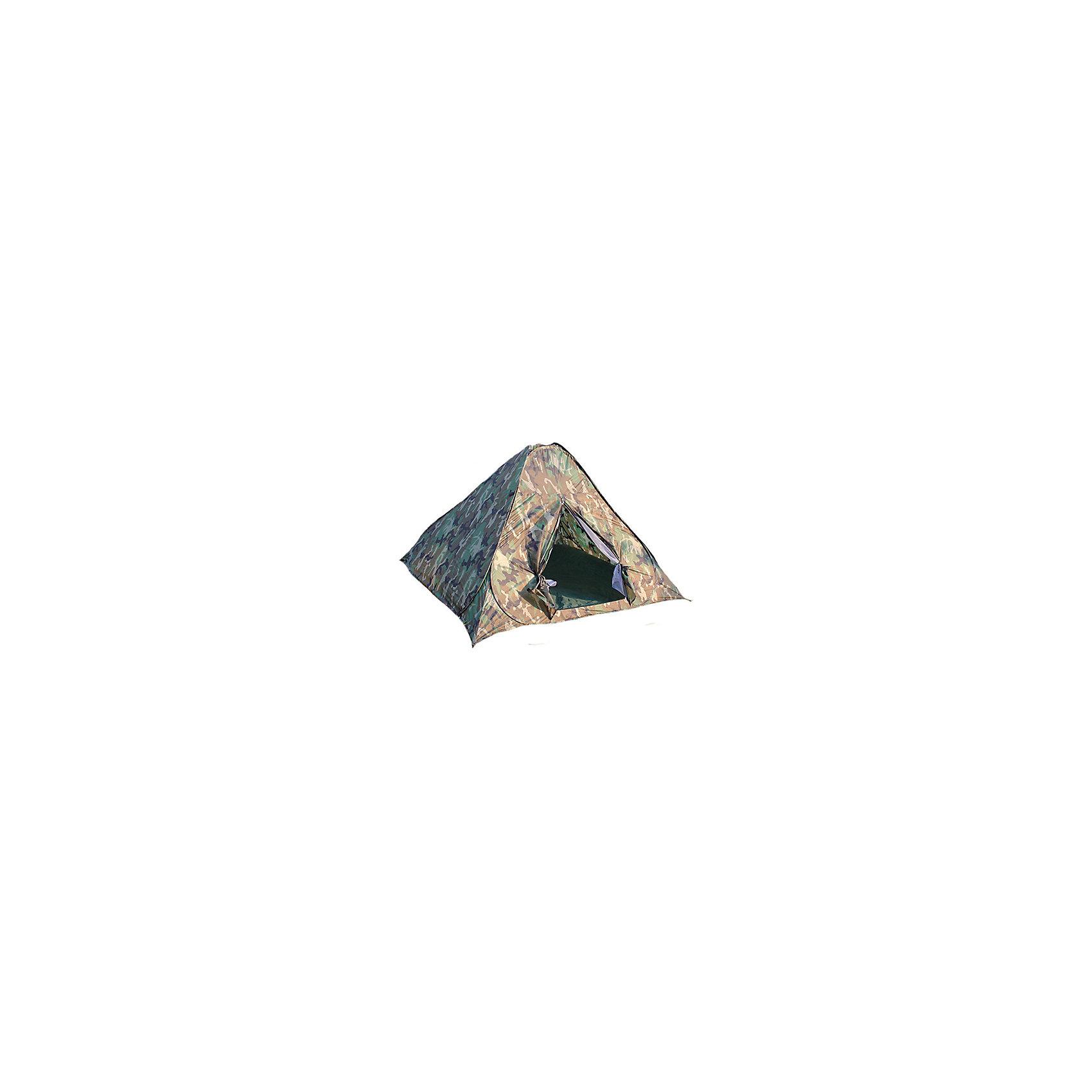 Палатка 2-х местная самораскладывающаяся, RekaТуризм<br>Характеристики товара:<br><br>• количество мест: 2<br>• мгновенная сборка<br>• размер: 190х190х130 см<br>• материал: 190T полиэстер<br>• материал пола: оксфорд.<br>• каркас: сталь <br>• москитная сетка.<br>• вес: 2,1кг<br>• цвет: хаки<br>• страна-производитель: Китай <br>• упаковка: чехол, пакет<br>• размер изделия в упаковке: 59х59х4см<br><br>Палатка 2-х местная самораскладывающаяся, Reka<br><br>Ширина мм: 590<br>Глубина мм: 590<br>Высота мм: 35<br>Вес г: 2080<br>Возраст от месяцев: 36<br>Возраст до месяцев: 2147483647<br>Пол: Унисекс<br>Возраст: Детский<br>SKU: 5574439