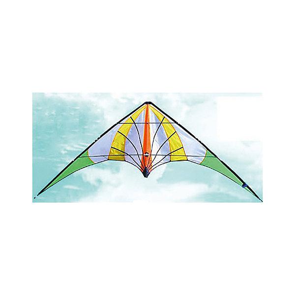 Воздушный змей, 280х90 смВоздушные змеи и вертушки<br>Характеристики товара:<br><br>• размер в разложенном виде: 280х90см<br>• длина нити: 45м<br>• материал: нейлон, дерево<br>• в комплекте подробная инструкция по запуску<br>• страна-производитель: Китай<br>• упаковка: чехол<br><br>Воздушного змея можно купить в нашем интернет-магазине.<br><br>Ширина мм: 100<br>Глубина мм: 50<br>Высота мм: 1000<br>Вес г: 383<br>Возраст от месяцев: 36<br>Возраст до месяцев: 2147483647<br>Пол: Унисекс<br>Возраст: Детский<br>SKU: 5574442