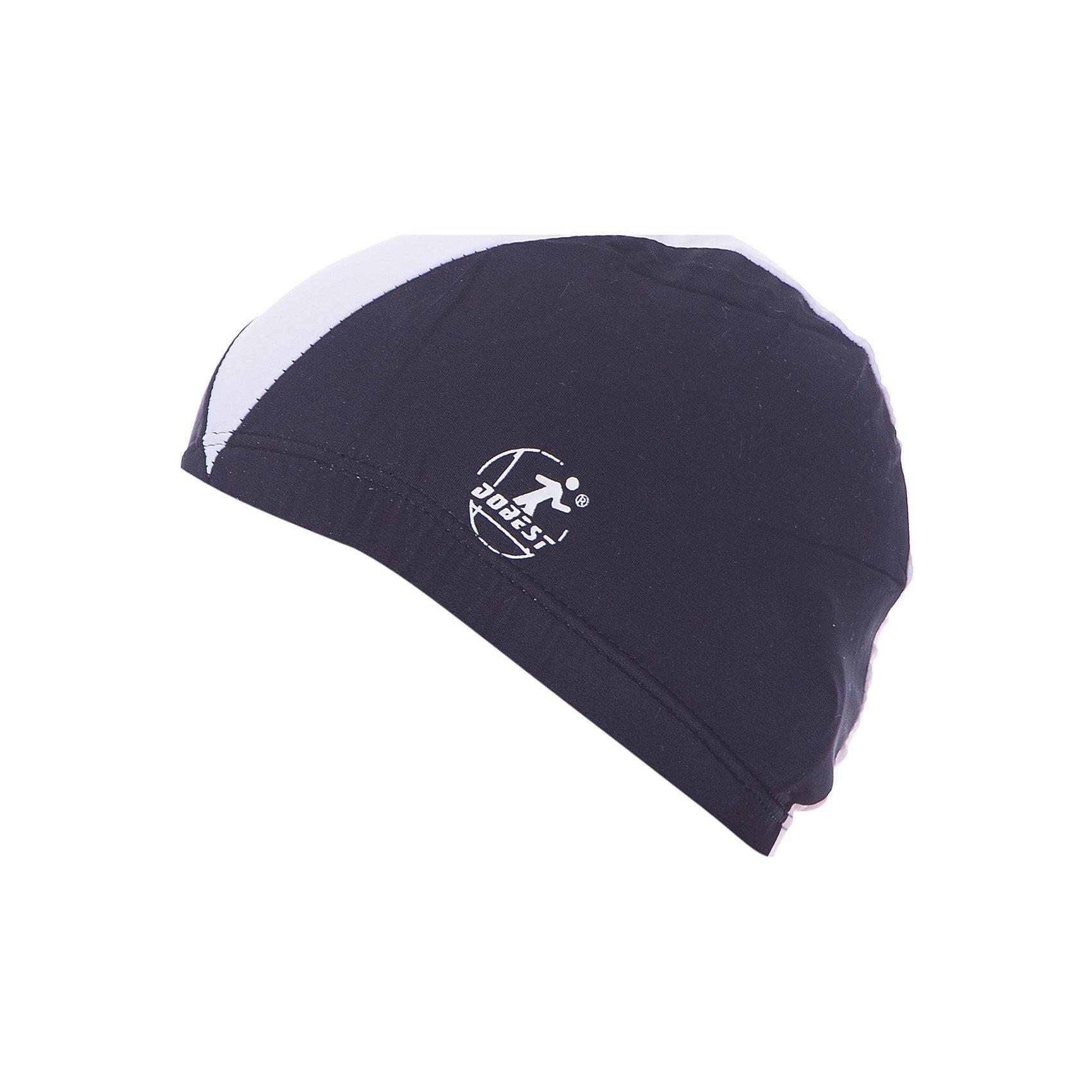Шапочка для плавания полиэстеровая, черная, Dobest