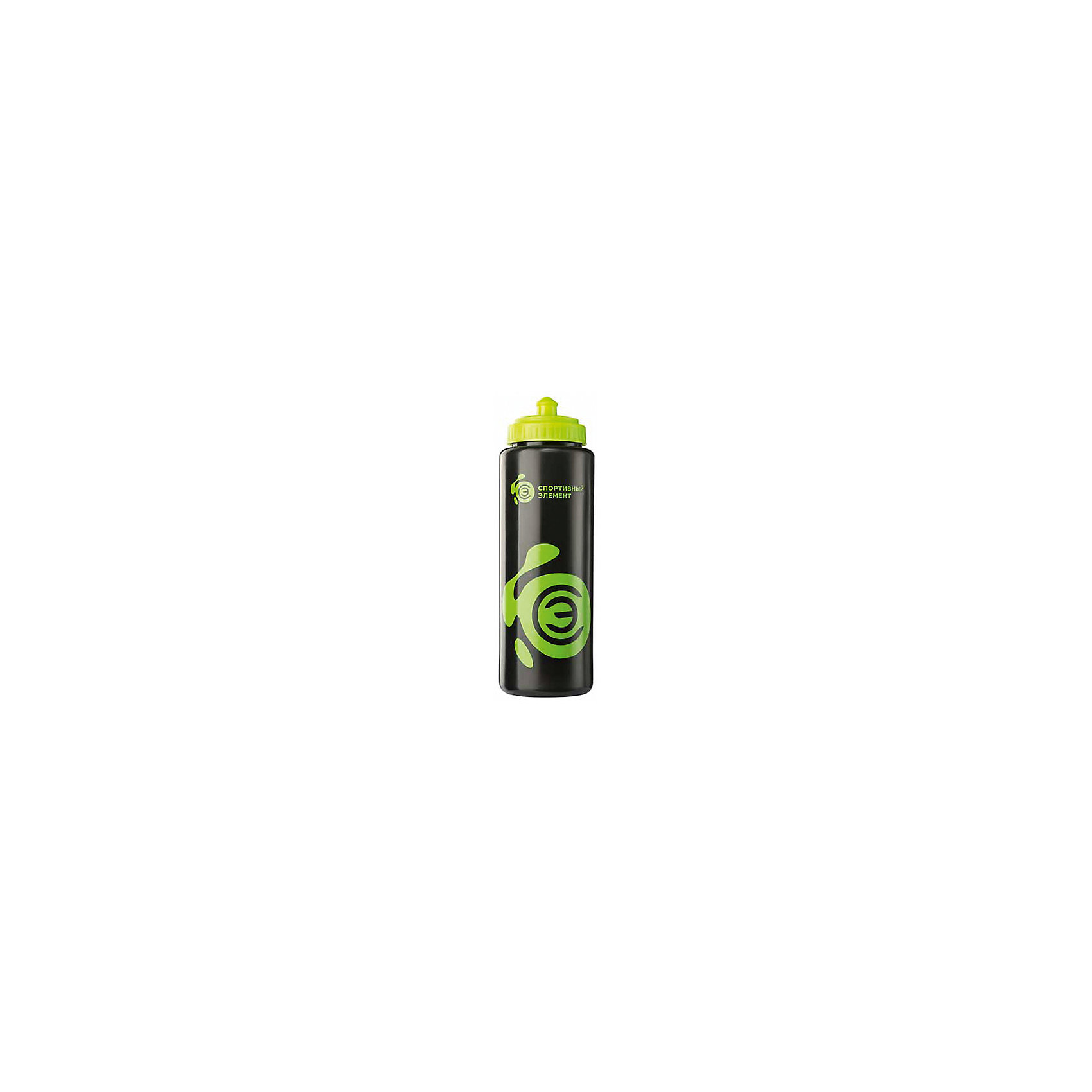 Спортивная бутылка Нефрит, черная, Спортивный ЭлементБутылки для воды и бутербродницы<br>Характеристики товара:<br><br>• объем: 1,0л<br>• высота: 25см<br>• диаметр: 7.5см<br>• вес: 77гр<br>• цвет: полупрозрачная черная бутылка, салатовый логотип Спортивный Элемент, салатовая крышка, салатовая защелка<br>• состав: LDPЕ-пластик<br>• страна-производитель: Китай<br>• упаковка: пакет<br><br>Классическая форма бутылки. <br><br>Предназначен для употребления воды и спортивных напитков.<br><br>Безопасный пластик, пригодный для хранения продуктов питания. <br><br>Пластик без содержания Бисфенол-А.<br><br>Закручивающаяся крышка с носиком для питья. <br><br>LDPE материал (приятно держать в руках).<br><br>Коврик туристический 180х50 см можно купить в нашем интернет-магазине.<br><br>Ширина мм: 250<br>Глубина мм: 80<br>Высота мм: 80<br>Вес г: 77<br>Возраст от месяцев: 36<br>Возраст до месяцев: 2147483647<br>Пол: Унисекс<br>Возраст: Детский<br>SKU: 5574464