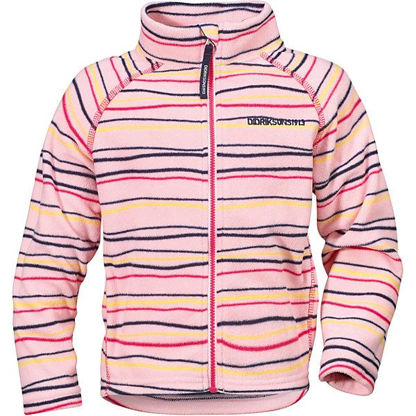 Толстовка MONTE KIDS PRINT для девочки DIDRIKSONSТолстовки<br>Толстовка из тонкого флиса. Мягкий и комфортный флис обладает хорошими теплоизоляционными свойствами, которые сохраняются даже во влажном состоянии. Этот материал прост в уходе (допускается стирка в машине). Весной и летом эта модель будет работать как самостоятельная верхняя одежда, а в ненастную погоду ее можно использовать как утепляющий слой под водонепроницаемую верхнюю одежду.<br>Состав:<br>100% полиэстер<br>Ширина мм: 356; Глубина мм: 10; Высота мм: 245; Вес г: 519; Цвет: розовый; Возраст от месяцев: 12; Возраст до месяцев: 18; Пол: Женский; Возраст: Детский; Размер: 80,120,90,130,100,110; SKU: 5576839;