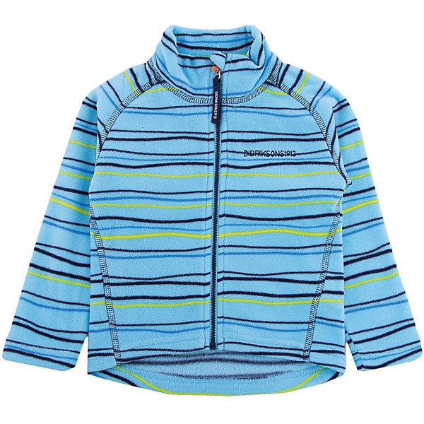 Купить Толстовка MONTE KIDS PRINT для мальчика DIDRIKSONS, Китай, голубой, 80, 110, 120, 140, 130, 100, 90, Мужской