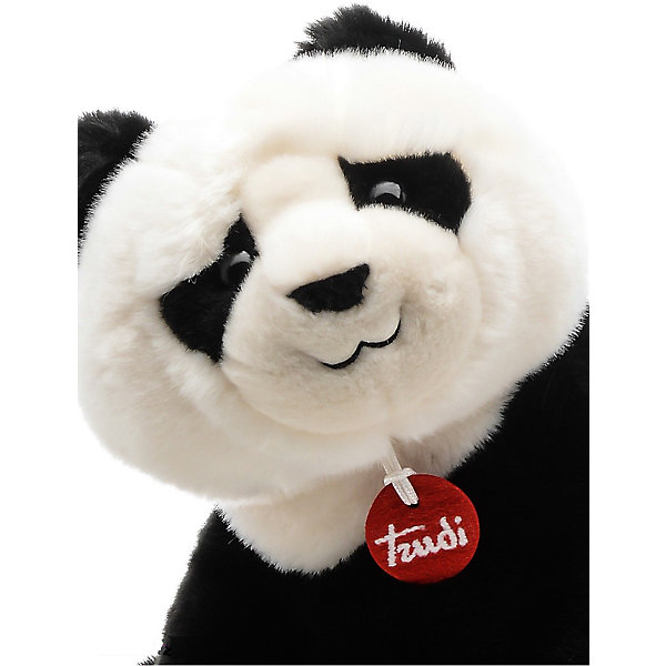 Панда Кевин, 34 см, сидячая, TrudiМягкие игрушки животные<br>Характеристики товара:<br><br>• возраст от 1 года;<br>• материал: искусственный мех, пластик;<br>• высота игрушки 34 см;<br>• размер упаковки 22х20х29 см;<br>• вес упаковки 300 гр.;<br>• страна производитель Индонезия.<br><br>Панда сидячая Кевин Trudi — мягкая игрушка для детей от 1 года, с которой можно поиграть или взять ее с собой в кроватку. Панда выполнена из мягкого материала, ее приятно обнимать. У Кевина добрые глазки и черно-белый окрас. Игрушку можно стирать в стиральной машине при температуре 30 градусов. Изготовлена из качественного безвредного материала.<br><br>Панду сидячую Кевин Trudi можно приобрести в нашем интернет-магазине.<br>Ширина мм: 220; Глубина мм: 200; Высота мм: 290; Вес г: 300; Возраст от месяцев: 12; Возраст до месяцев: 2147483647; Пол: Унисекс; Возраст: Детский; SKU: 5578408;