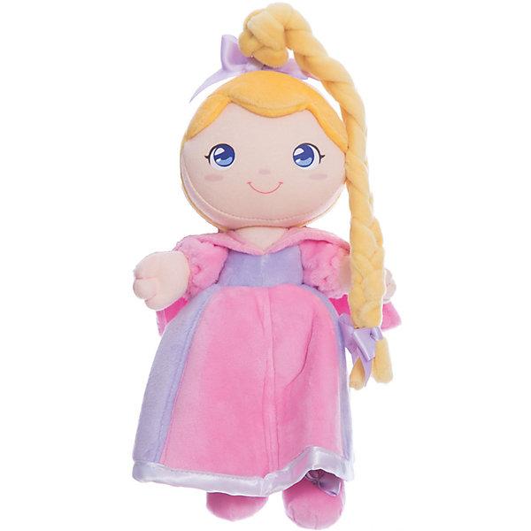 Мягкая кукла принцесса Роза, 24 см, TrudiКуклы<br>Характеристики товара:<br><br>• возраст с рождения;<br>• материал: плюш, текстиль, синтепон;<br>• высота игрушки 24 см;<br>• размер упаковки 26х19х12 см;<br>• вес упаковки 120 гр.;<br>• страна производитель Китай.<br><br>Мягкая кукла принцесса Роза Trudi — улыбающаяся принцесса с большими голубыми глазками и длинной косичкой. Роза одета в нежное розовое платье. В процессе игры девочка может придумывать с куколкой свои невероятные сюжеты и истории. Игрушка способствует развитию тактильных ощущений, воображения и фантазии. Кукла изготовлена из качественного материала, который не вызывает у детей аллергических реакций. Игрушку можно стирать в стиральной машине, она не выгорает и сохраняет форму.<br><br>Мягкую куклу принцесса Роза Trudi можно приобрести в нашем интернет-магазине.<br>Ширина мм: 260; Глубина мм: 190; Высота мм: 120; Вес г: 120; Возраст от месяцев: -2147483648; Возраст до месяцев: 2147483647; Пол: Женский; Возраст: Детский; SKU: 5578414;