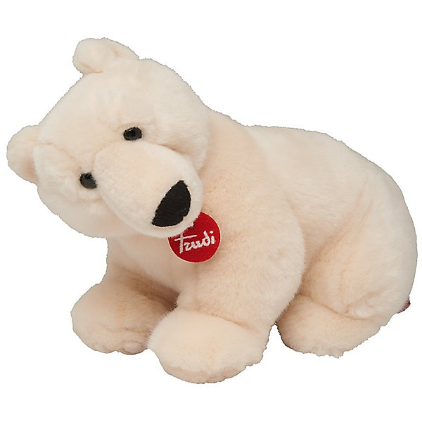 Полярный медведь Пласидо, 36 см, TrudiМягкие игрушки животные<br>Характеристики товара:<br><br>• возраст от 3 лет;<br>• материал: плюш, пластик;<br>• высота игрушки 36 см;<br>• размер упаковки 29х24х19 см;<br>• вес упаковки 250 гр.;<br>• страна производитель Индонезия.<br><br>Полярный медведь Пласидо 36 см Trudi — мягкий белоснежный медвежонок с мягкими лапками, черным носиком и темными глазками. Медведь изготовлен из качественного безопасного материала, приятного на ощупь. Малыш моежт играть с игрушкой дома, брать на прогулку или в кроватку перед сном. Играя с игрушкой, у него развиваются тактильные ощущения, воображение.<br><br>Полярного медведя Пласидо 36 см Trudi можно приобрести в нашем интернет-магазине.<br>Ширина мм: 290; Глубина мм: 240; Высота мм: 190; Вес г: 250; Возраст от месяцев: 36; Возраст до месяцев: 2147483647; Пол: Унисекс; Возраст: Детский; SKU: 5578418;