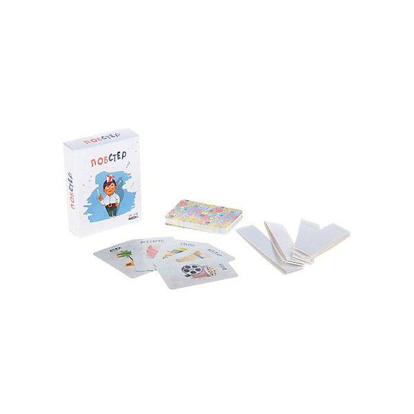 Настольная карточная игра Лобстер, Selfie mediaНастольные игры для всей семьи<br>Характеристики товара:<br><br>• возраст от 5 лет;<br>• материал: картон;<br>• количество игроков: от 2-х<br>• продолжительность игры: от 15 минут и более<br>• в наборе: 40 карточек, 4 ленты, правила игры;<br>• размер упаковки 12х9,2х3,5 см;<br>• вес упаковки 90 гр.;<br>• страна производитель Россия.<br><br>Настольная игра «Лобстер» Selfie media позволит весело провести время в компании друзей. Каждый игрок берет одну карточку, не показывая ее другим, крепит ее на лоб одного из участников. Для крепления в наборе имеются удобные ленты. Получается, что игрок не видит, кто же он. Он должен задавать вопросы с ответами на «да» и «нет», чтобы отгадать, кто он. Дети в процессе игры могут узнать много новых слов и понятий, а также потренируют смекалку и сообразительность.<br><br>Настольную игру «Лобстер» Selfie media можно приобрести в нашем интернет-магазине.<br><br>Ширина мм: 35<br>Глубина мм: 92<br>Высота мм: 120<br>Вес г: 90<br>Возраст от месяцев: 60<br>Возраст до месяцев: 2147483647<br>Пол: Унисекс<br>Возраст: Детский<br>SKU: 5578430
