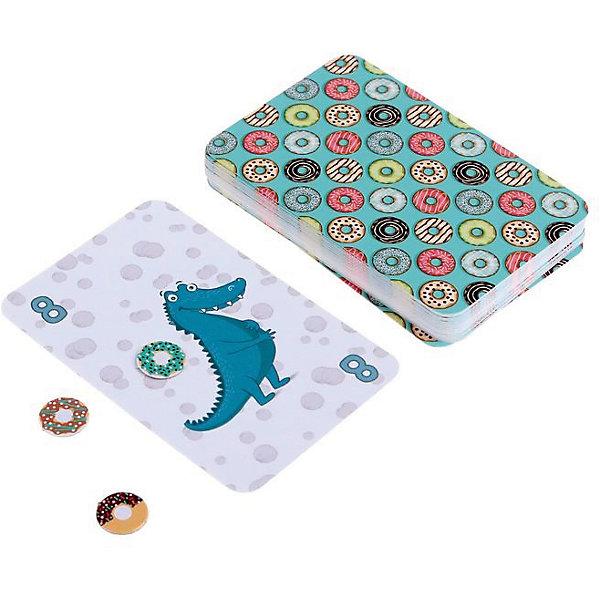 Настольная игра «Крокодите мимо», Selfie mediaНастольные игры для всей семьи<br>Характеристики товара:<br><br>• возраст от 7 лет;<br>• материал: картон;<br>• количество игроков: 3-4<br>• продолжительность одной игры: от 15 минут<br>• в наборе: 33 карточки, 36 жетонов, правила игры;<br>• размер упаковки 12х9х3 см;<br>• вес упаковки 92 гр.;<br>• страна производитель Россия.<br><br>Настольная игра «Крокодите мимо» Selfie media — увлекательная игра, которая потренирует у детей смекалку, сообразительность. В центре стоит колода карточек с крокодилам, у каждого участника в руке жетоны в виде пончиков, которые не нужно показывать другим игрокам. Один участник берет из стопки карту с крокодильчиком, кладет ее в центр. Он может забрать ее себе, а может откупиться пончиком. Если же он решает откупиться, то передает карту соседу, у которого стоит такой же выбор. Цель — в конце игры оказаться с наименьшим количеством крокодильчиков.<br><br>Настольную игру «Крокодите мимо» Selfie media можно приобрести в нашем интернет-магазине.<br><br>Ширина мм: 30<br>Глубина мм: 90<br>Высота мм: 120<br>Вес г: 92<br>Возраст от месяцев: 84<br>Возраст до месяцев: 2147483647<br>Пол: Унисекс<br>Возраст: Детский<br>SKU: 5578434