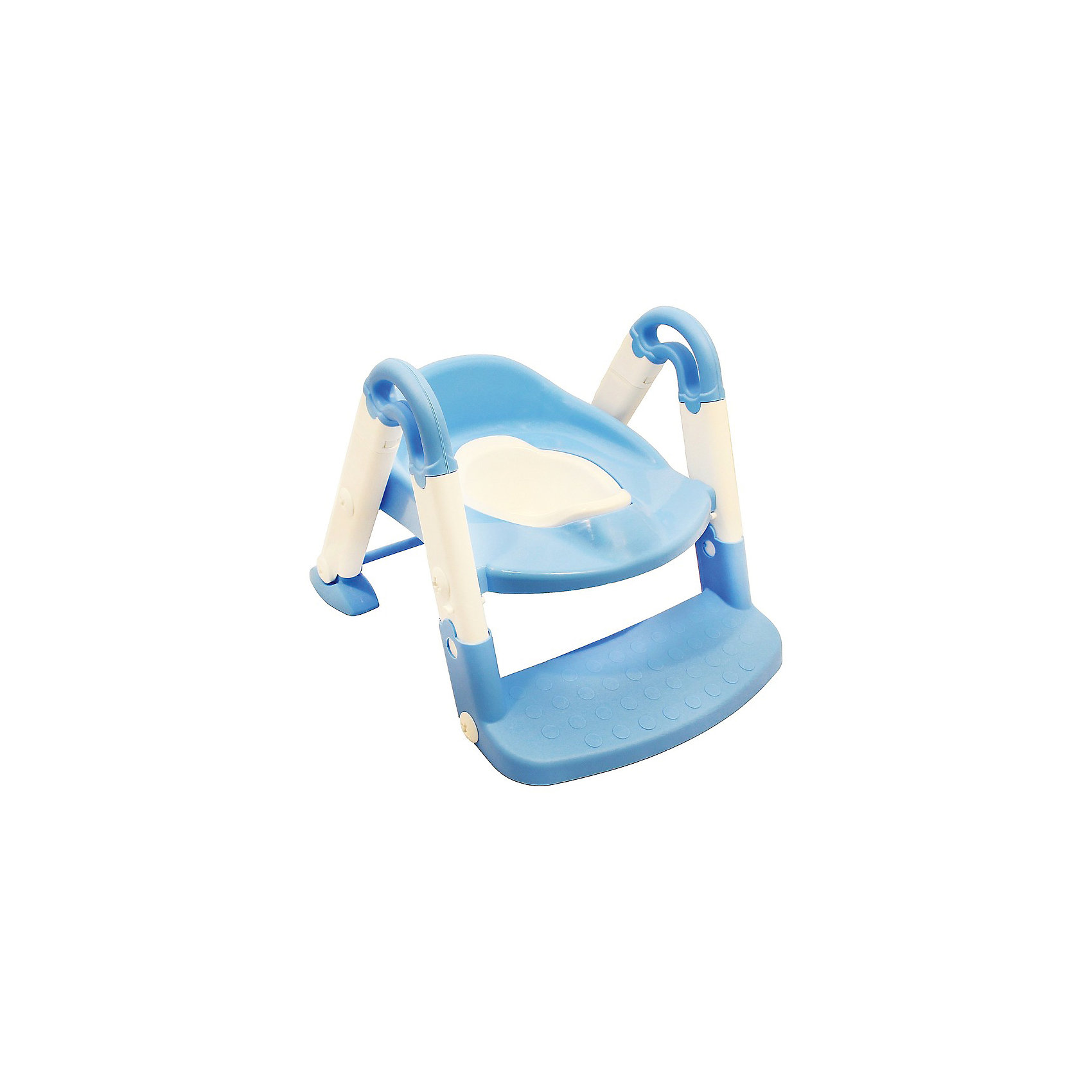 Горшок-трансформер, ROXY-KIDS, голубойГоршки, сиденья для унитаза, стульчики-подставки<br>Горшок-трансформер, ROXY-KIDS, голубой.<br><br>Характеристики:<br><br>• Для детей в возрасте: от 2 до 5 лет<br>• Максимальный вес ребенка: 25 кг.<br>• Размер горшка в собранном виде: 51 х 38 х 36 см.<br>• Размер насадки для унитаза со ступенькой: 51 х 38 х 68 см.<br>• Размер сиденья-адаптера для унитаза: 38 х 31 х 12 см.<br>• Размер внутренней части: 23 х 14,5 х 9 см.<br>• Материал: пластик<br>• Цвет: белый, голубой<br>• Размер упаковки: 39,5 х 34,8 х 17,5 см<br>•Вес: 1850 гр.<br><br>Горшок-трансформер, ROXY-KIDS сделает быстрым и комфортным процесс приучения ребенка к горшку и переход от горшка к унитазу. Горшок-трансформер выполнен из яркого прочного пластика. Внутренняя часть вынимается и моется отдельно. Горшок легко транформируется в насадку на унитаз с лесенкой. Насадка позволяет приучить ребенка с ранних лет пользоваться взрослым унитазом, она имеет ступеньку с противоскользящим покрытием и удобные ручки, которые помогают ребенку слезть и залезть. Ножки насадки с надежными антискользящими прокладками обеспечат дополнительную безопасность и устойчивость. Когда ребенок подрос и ему не нужна лесенка, чтобы забираться на унитаз, ее можно открепить и использовать изделие в качестве обычного адаптера на стульчак унитаза. Изделие компактно и подойдет для небольшого помещения, оно легко собирается и разбирается для транспортировки. Горшок-трансформер, ROXY-KIDS - это эргономичный горшок, насадка на унитаз с антискользящей ступенькой и сиденье-адаптер для любых моделей унитазов!<br><br>Горшок-трансформер, ROXY-KIDS, голубой можно купить в нашем интернет-магазине.<br><br>Ширина мм: 395<br>Глубина мм: 348<br>Высота мм: 175<br>Вес г: 1850<br>Возраст от месяцев: 24<br>Возраст до месяцев: 60<br>Пол: Унисекс<br>Возраст: Детский<br>SKU: 5578867