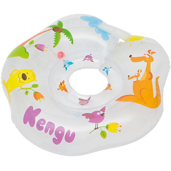 Круг на шею для купания Kengu, Roxy-KidsКруги для купания малыша<br>Круг на шею для купания Kengu, Roxy-Kids.<br><br>Характеристики:<br><br>• Для детей в возрасте: от 0 до 18 месяцев<br>• Максимальная нагрузка: 18 кг.<br>• Размер: 42 х 39 см.<br>• Материал: ПВХ<br>• Размер упаковки: 15 х 15 х 0,5 см.<br>• Вес: 0,2 кг.<br><br>Круг на шею для купания Kengu Roxy-Kids предназначен для самых юных купальщиков. Он выполнен из безопасного гипоаллергенного материала, окрашен специальными красителями, которые не смываются водой и долгое время сохраняют свою яркость. Круг состоит из одинарной воздушной камеры, внутри которой находится шарик-погремушка. Удобная выемка для подбородка препятствует попаданию воды в рот малыша, внутренний диаметр круга регулируется надежной застежкой на липучках и карабином. Круг учитывает характерные физиологические особенности маленьких купальщиков. Гладкий внутренний шов круга не сдавливает и не царапает шею малыша, плотно прилегает к ней, не допуская травмирование хрупких шейных позвонков новорожденных. Круг Kengu Roxy-Kids рассчитан на регулярное использование малышам весом до 18 кг. Осваивать водные просторы с кругом для купания Kengu Roxy-Kids  — интересно, весело и безопасно! Родители тоже оценят преимущества круга, теперь им не придется держать малыша в воде на руках все время!<br><br>Круг на шею для купания Kengu, Roxy-Kids можно купить в нашем интернет-магазине.<br><br>Ширина мм: 150<br>Глубина мм: 5<br>Высота мм: 150<br>Вес г: 200<br>Возраст от месяцев: 0<br>Возраст до месяцев: 18<br>Пол: Унисекс<br>Возраст: Детский<br>SKU: 5578868