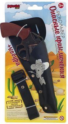 Револьвер С Кобурой Опасные Приключения , 19 См, Mioshi Army