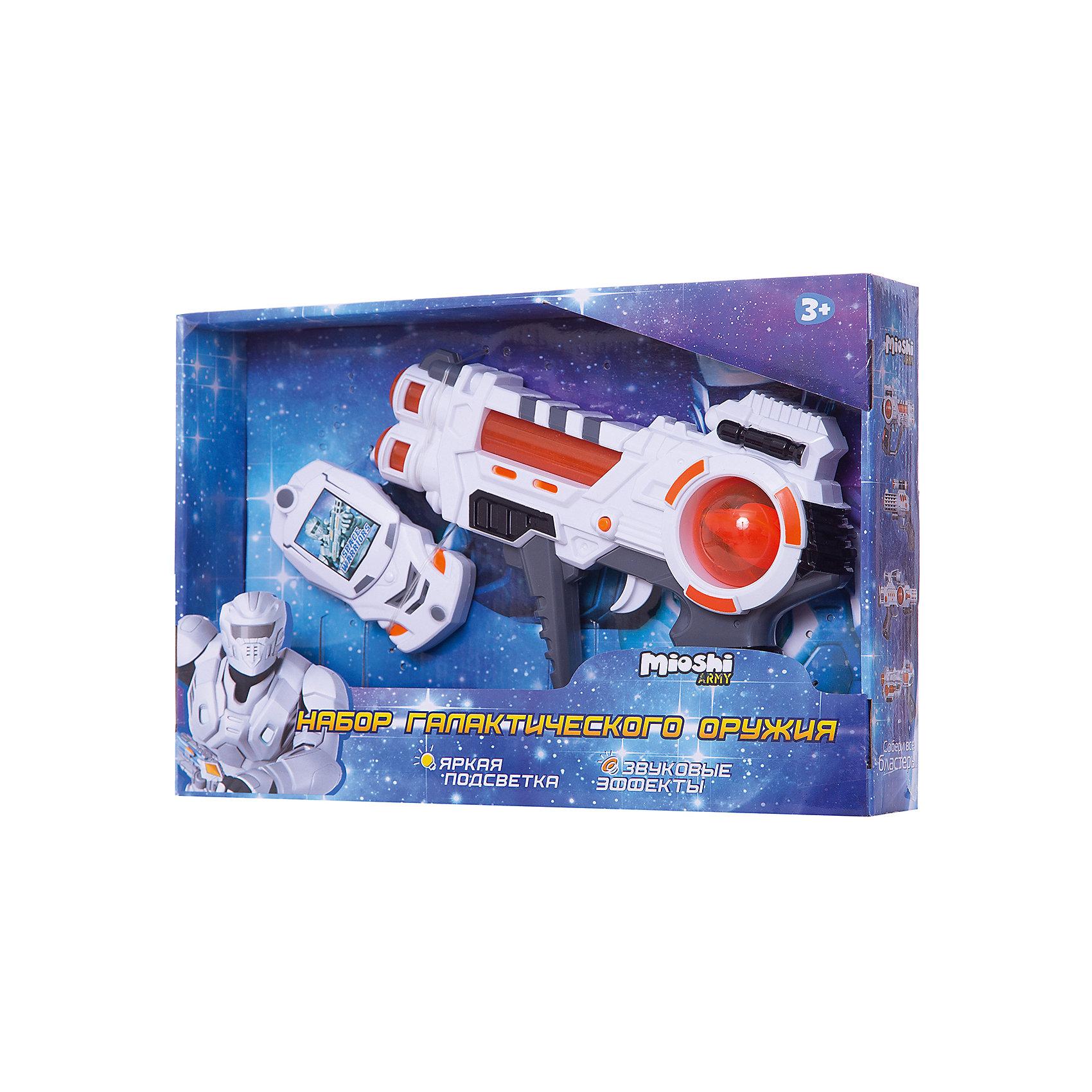 Игровой набор Галактическая миссия, Mioshi ArmyИгрушечное оружие<br><br><br>Ширина мм: 330<br>Глубина мм: 220<br>Высота мм: 56<br>Вес г: 312<br>Возраст от месяцев: 36<br>Возраст до месяцев: 72<br>Пол: Мужской<br>Возраст: Детский<br>SKU: 5581232