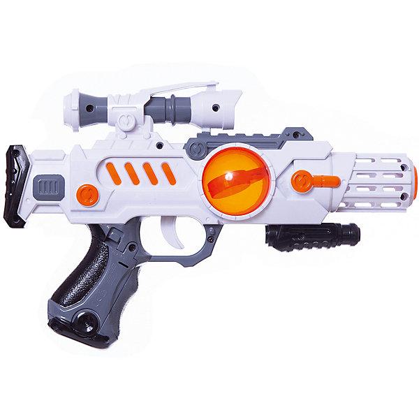 Бластер Звёздный воин, Mioshi ArmyИгрушечные пистолеты и бластеры<br>Характеристики товара:<br><br>• возраст от 3 лет;<br>• материал: пластик;<br>• в комплекте: бластер;<br>• работает от 3 батареек АА (в комплект не входят);<br>• размер упаковки 35,5х23х6 см;<br>• вес упаковки 292 гр.;<br>• страна производитель: Китай.<br><br>Бластер «Звездный воин» Mioshi Army позволит мальчишкам устроить импровизированные космические сражения. Во время игры бластер светится и издает звуки выстрелов, что делает игру еще увлекательней. Игрушка изготовлена из качественных прочных материалов, безопасных для детей.<br><br>Бластер «Звездный воин» Mioshi Army можно приобрести в нашем интернет-магазине.<br><br>Ширина мм: 355<br>Глубина мм: 230<br>Высота мм: 60<br>Вес г: 292<br>Возраст от месяцев: 36<br>Возраст до месяцев: 72<br>Пол: Мужской<br>Возраст: Детский<br>SKU: 5581235