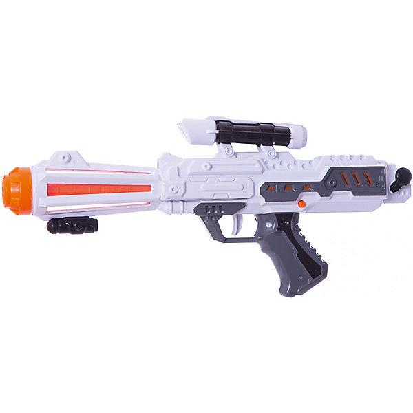 Бластер Космический стрелок, Mioshi ArmyИгрушечные пистолеты и бластеры<br>Характеристики товара:<br><br>• возраст от 3 лет;<br>• материал: пластик;<br>• в комплекте: бластер;<br>• работает от 3 батареек АА (в комплект не входят);<br>• размер упаковки 41,5х20,6х6 см;<br>• вес упаковки 312 гр.;<br>• страна производитель: Китай.<br><br>Бластер «Космический стрелок» Mioshi Army позволит мальчишкам устроить импровизированные космические сражения. Во время игры бластер светится и издает звуки выстрелов, что делает игру еще увлекательней. Игрушка изготовлена из качественных прочных материалов, безопасных для детей.<br><br>Бластер «Космический стрелок» Mioshi Army можно приобрести в нашем интернет-магазине.<br><br>Ширина мм: 415<br>Глубина мм: 206<br>Высота мм: 60<br>Вес г: 312<br>Возраст от месяцев: 36<br>Возраст до месяцев: 72<br>Пол: Мужской<br>Возраст: Детский<br>SKU: 5581239