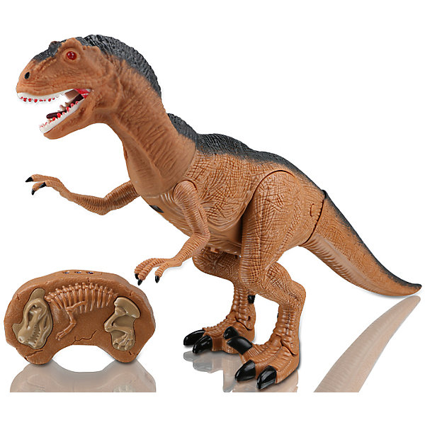 Динозавр на и/к управлении Грозный охотник, Mioshi ActiveИдеи подарков<br>Характеристики товара:<br><br>• возраст от 3 лет;<br>• материал: пластик;<br>• в комплекте: динозавр, пульт;<br>• игрушка работает от батареек (в комплект не входят);<br>• высота динозавра 47 см;<br>• размер упаковки 51х31х12 см;<br>• вес упаковки 1,45 кг;<br>• страна производитель: Китай.<br><br>Динозавр «Грозный охотник» Mioshi Active — игрушка, которая управляется при помощи пульта управления. Динозавр двигается, вертит головой и издает грозное рычание. При включении у него загораются глаза. Игрушка выполнена из качественного прочного материала. <br><br>Динозавра «Грозный охотник» Mioshi Active можно приобрести в нашем интернет-магазине.<br>Ширина мм: 510; Глубина мм: 120; Высота мм: 310; Вес г: 1450; Возраст от месяцев: 36; Возраст до месяцев: 72; Пол: Унисекс; Возраст: Детский; SKU: 5581246;