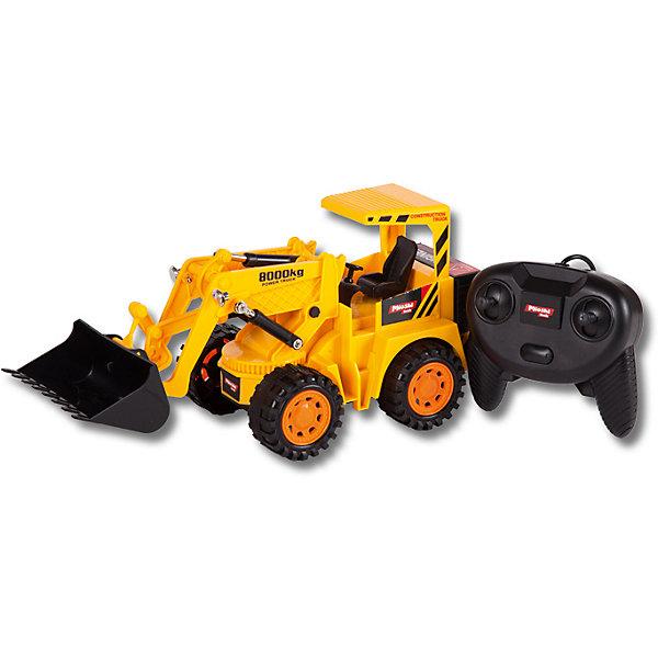 Автопогрузчик , проводное управление, Mioshi TechИдеи подарков<br>Характеристики товара:<br><br>• возраст от 6 лет;<br>• материал: пластик;<br>• в комплекте: автопогрузчик, проводной пульт;<br>• пульт работает от 3 батареек АА (в комплект не входят);<br>• длина игрушки 29 см;<br>• размер упаковки 30х14х14,5 см;<br>• вес упаковки 580 гр.;<br>• страна производитель: Китай.<br><br>Автопогрузчик Mioshi Tech управляется при помощи проводного пульта. Машина умеет ездить в разных направлениях. Ковш автопогрузчика поднимается и опускается. Автопогрузчик используется на строительных площадках для загрузки, разгрузки грузов или строительного мусора.<br><br>Автопогрузчик Mioshi Tech проводное управление можно приобрести в нашем интернет-магазине.<br>Ширина мм: 300; Глубина мм: 140; Высота мм: 145; Вес г: 580; Возраст от месяцев: 72; Возраст до месяцев: 2147483647; Пол: Мужской; Возраст: Детский; SKU: 5581255;