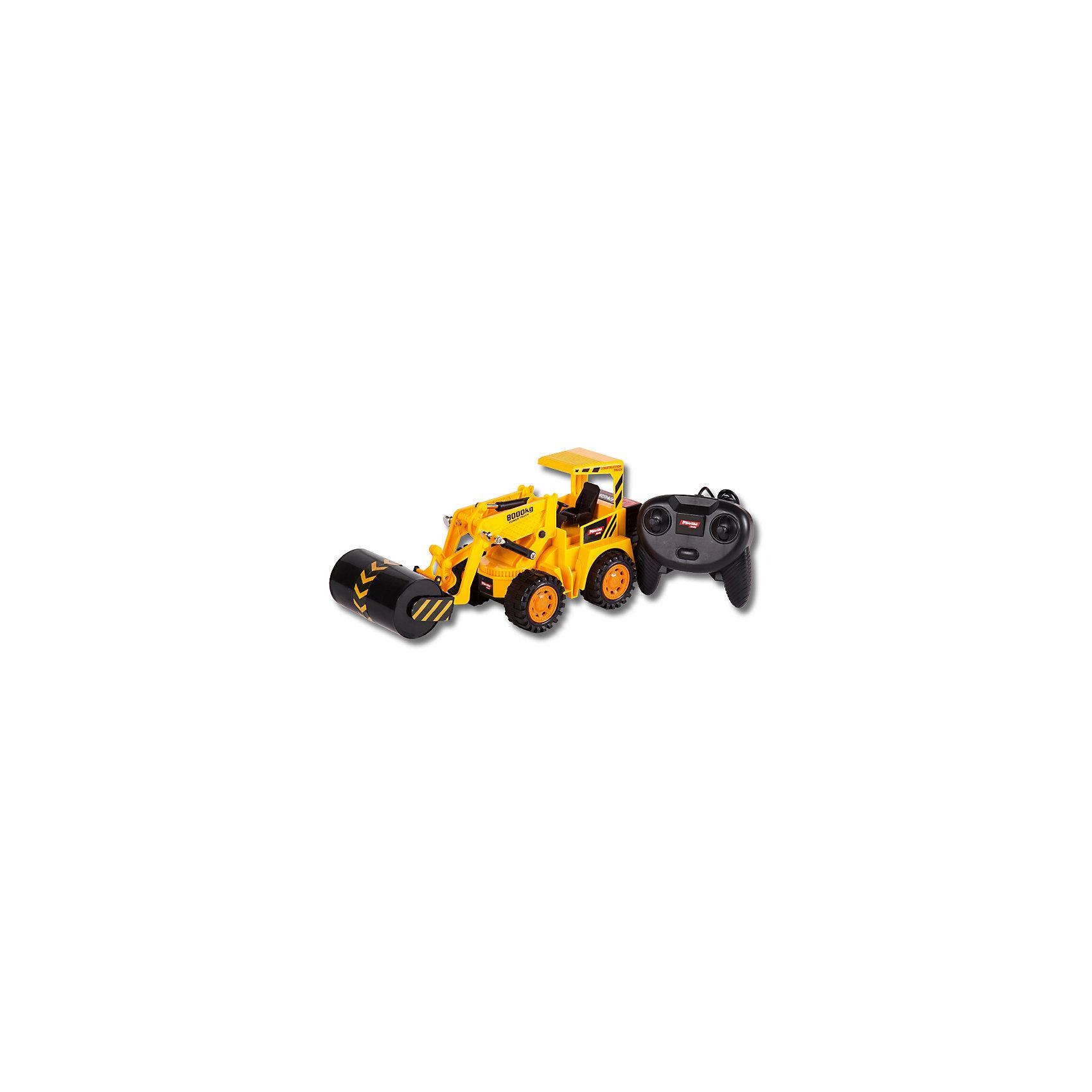 Каток, проводное управление, Mioshi TechИдеи подарков<br>Характеристики товара:<br><br>• возраст от 6 лет;<br>• материал: пластик;<br>• в комплекте: каток, проводной пульт;<br>• пульт работает от 3 батареек АА (в комплект не входят);<br>• длина игрушки 30 см;<br>• длина провода 1,5 метра;<br>• размер упаковки 33х13,5х15 см;<br>• вес упаковки 602 гр.;<br>• страна производитель: Китай.<br><br>Каток Mioshi Tech — увлекательная игрушка, которая управляется проводным пультом. Каток укладывает и разравнивает грунт для новой дороги. Машина может ездить в разных направлениях. Валик кружится, изображая строительные работы. Игрушка изготовлена из качественного безопасного пластика.<br><br>Каток Mioshi Tech проводное управление можно приобрести в нашем интернет-магазине.<br><br>Ширина мм: 330<br>Глубина мм: 135<br>Высота мм: 150<br>Вес г: 602<br>Возраст от месяцев: 72<br>Возраст до месяцев: 2147483647<br>Пол: Мужской<br>Возраст: Детский<br>SKU: 5581257