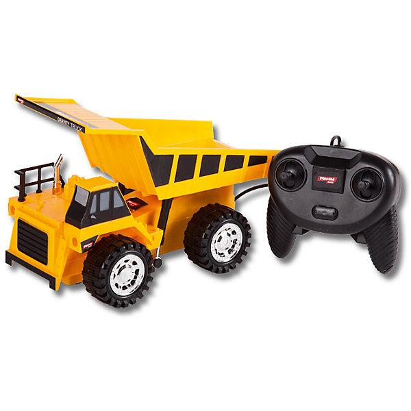 Самосвал, проводное управление, Mioshi TechИдеи подарков<br>Характеристики товара:<br><br>• возраст от 6 лет;<br>• материал: пластик;<br>• в комплекте: самосвал, проводной пульт;<br>• пульт работает от 3 батареек АА (в комплект не входят);<br>• длина игрушки 22,3 см;<br>• длина провода 1,5 метра;<br>• размер упаковки 32,5х14х16 см;<br>• вес упаковки 550 гр.;<br>• страна производитель: Китай.<br><br>Самосвал Mioshi Tech занимает погрузкой, выгрузкой сыпучих материалов, строительного мусора на площадках. Игрушка управляется проводным пультом. Машина может ездить в разных направлениях. Кузов самоката откидывается, выгружая груз. Во время движения работают световые эффекты. Игрушка изготовлена из качественного безопасного пластика.<br><br>Самосвал Mioshi Tech проводное управление можно приобрести в нашем интернет-магазине.<br>Ширина мм: 325; Глубина мм: 140; Высота мм: 160; Вес г: 550; Возраст от месяцев: 72; Возраст до месяцев: 2147483647; Пол: Мужской; Возраст: Детский; SKU: 5581260;