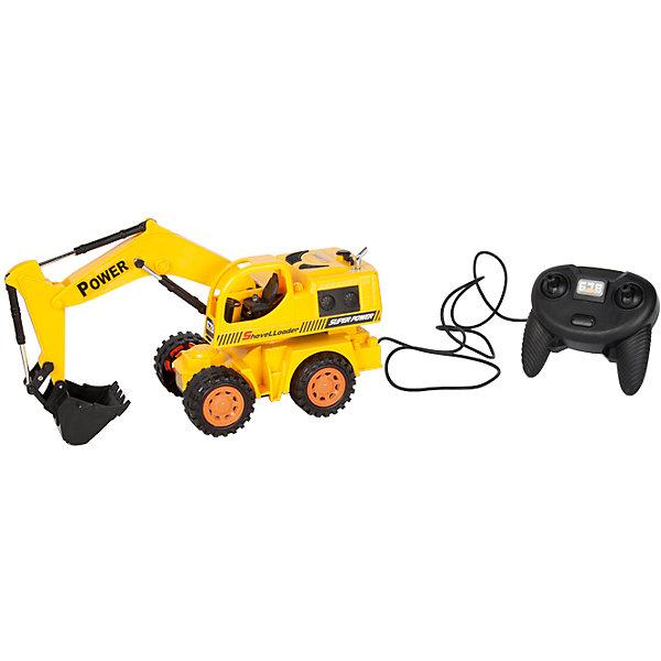 Экскаватор колёсный, проводное управление, Mioshi TechИдеи подарков<br>Характеристики товара:<br><br>• возраст от 6 лет;<br>• материал: пластик;<br>• в комплекте: экскаватор, проводной пульт;<br>• пульт работает от 3 батареек АА (в комплект не входят);<br>• длина игрушки 29,6 см;<br>• длина провода 1,5 метра;<br>• размер упаковки 33х14х19,5 см;<br>• вес упаковки 655 гр.;<br>• страна производитель: Китай.<br><br>Экскаватор колесный Mioshi Tech используется на строительных площадках. Игрушка управляется проводным пультом. Машина может ездить в разных направлениях. Ковш поднимается и опускается, изображая строительные работы. Во время движения работают световые эффекты. Игрушка изготовлена из качественного безопасного пластика.<br><br>Экскаватор колесный Mioshi Tech проводное управление можно приобрести в нашем интернет-магазине.<br>Ширина мм: 330; Глубина мм: 140; Высота мм: 195; Вес г: 655; Возраст от месяцев: 72; Возраст до месяцев: 2147483647; Пол: Мужской; Возраст: Детский; SKU: 5581262;