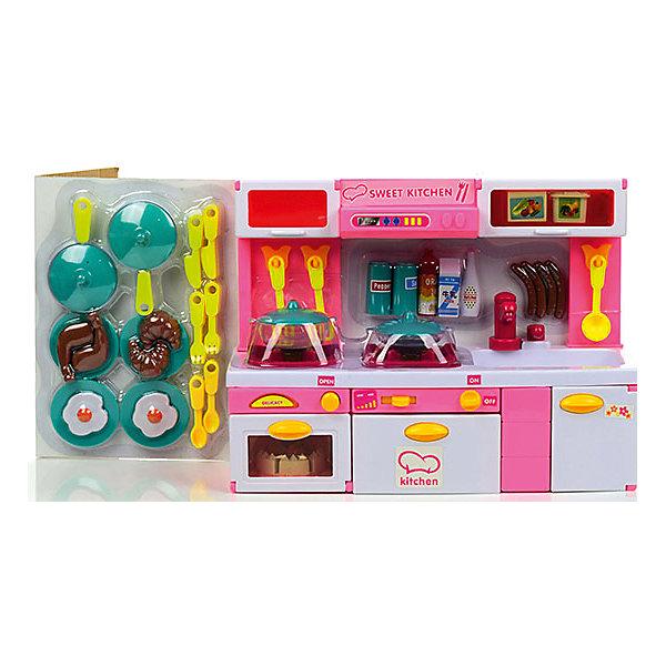 Набор мебели для кукол Суперкухня, DollyToyОдежда для кукол<br>Характеристики товара:<br><br>• возраст от 3 лет;<br>• материал: пластик;<br>• в комплекте: кухня с аксессуарами;<br>• размер упаковки 49х34,5х13,5 см;<br>• вес упаковки 2,08 кг;<br>• страна производитель: Китай.<br><br>Набор мебели для кукол «Суперкухня» DollyToy — набор бытовой техники и посуды для кукол, с которым девочка может придумать сюжеты для игры. Ее любимая куколка может пригласить друзей в гости попить чай или попробовать вкусное блюдо. Дверцы на кухне открываются и закрываются. Плита оснащена световыми и звуковыми эффектами.<br><br>Набор мебели для кукол «Суперкухня» DollyToy можно приобрести в нашем интернет-магазине.<br><br>Ширина мм: 490<br>Глубина мм: 135<br>Высота мм: 345<br>Вес г: 2083<br>Возраст от месяцев: 36<br>Возраст до месяцев: 72<br>Пол: Женский<br>Возраст: Детский<br>SKU: 5581265