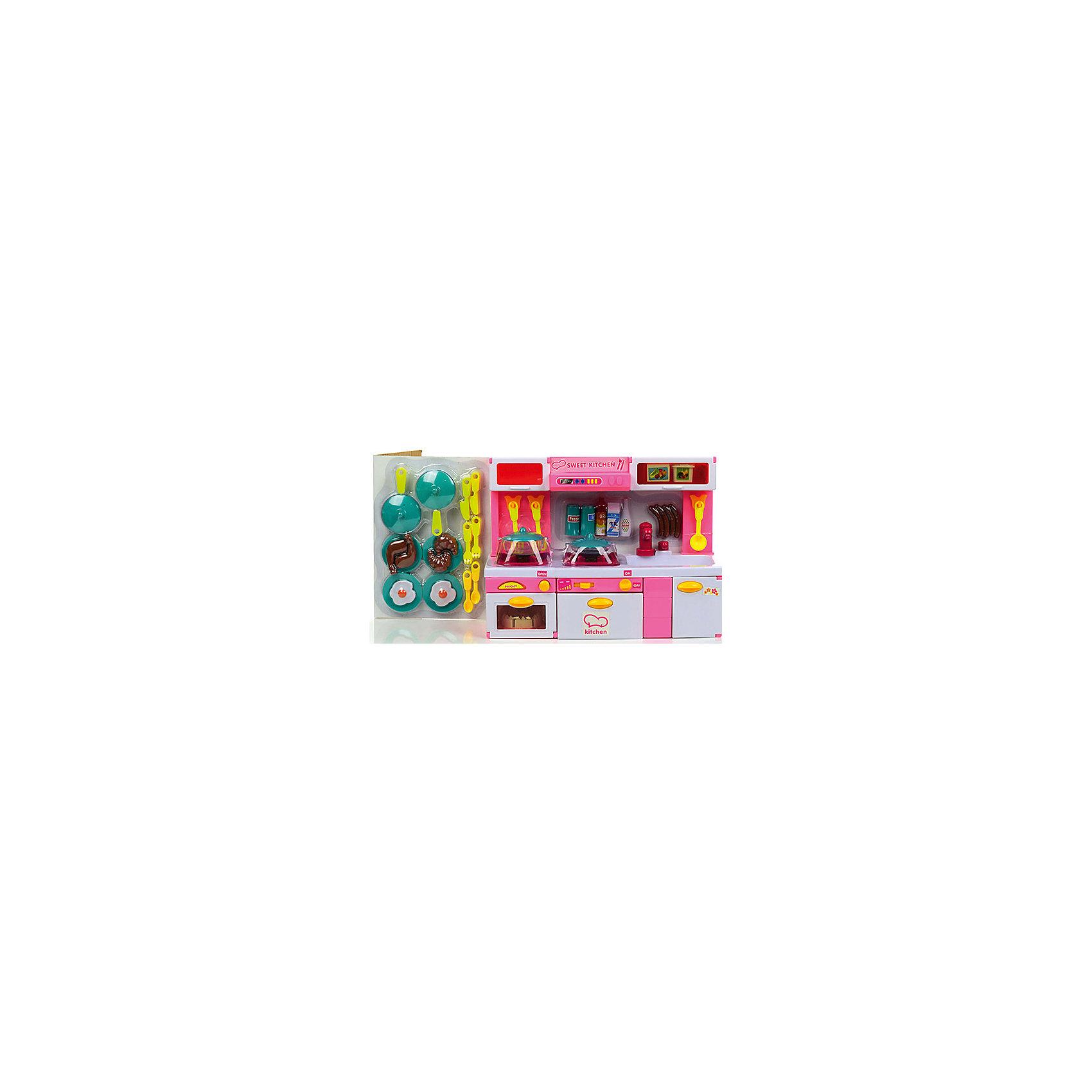 Набор мебели для кукол Суперкухня, DollyToyКукольная одежда и аксессуары<br>Характеристики товара:<br><br>• возраст от 3 лет;<br>• материал: пластик;<br>• в комплекте: кухня с аксессуарами;<br>• размер упаковки 49х34,5х13,5 см;<br>• вес упаковки 2,08 кг;<br>• страна производитель: Китай.<br><br>Набор мебели для кукол «Суперкухня» DollyToy — набор бытовой техники и посуды для кукол, с которым девочка может придумать сюжеты для игры. Ее любимая куколка может пригласить друзей в гости попить чай или попробовать вкусное блюдо. Дверцы на кухне открываются и закрываются. Плита оснащена световыми и звуковыми эффектами.<br><br>Набор мебели для кукол «Суперкухня» DollyToy можно приобрести в нашем интернет-магазине.<br><br>Ширина мм: 490<br>Глубина мм: 135<br>Высота мм: 345<br>Вес г: 2083<br>Возраст от месяцев: 36<br>Возраст до месяцев: 72<br>Пол: Женский<br>Возраст: Детский<br>SKU: 5581265