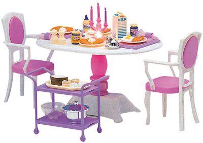 Набор мебели для кукол Ужин в ресторане , DollyToy