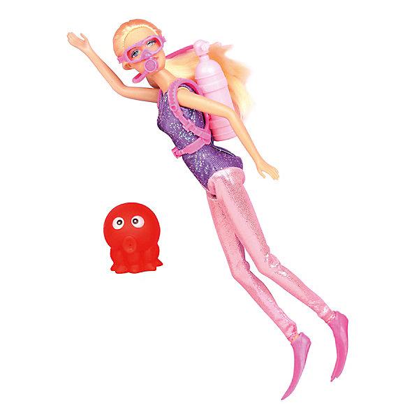Кукла Морское приключение, 27 см, Defa LucyКуклы<br>Характеристики товара:<br><br>• возраст от 3 лет;<br>• материал: пластик, текстиль;<br>• в комплекте: кукла, осьминог;<br>• высота куклы 27 см;<br>• размер упаковки 22х32,5х6,5 см;<br>• вес упаковки 390 гр.;<br>• страна производитель: Китай.<br><br>Кукла «Морское приключение» Defa Lucy занимается подводным плаванием и любит погружаться на морское дно, чтобы открыть для себя много нового и неизведанного. Она одета в специальный аквалангический костюм с баллоном с воздухом. У куклы подвижные ручки и ножки. Игрушка изготовлена из качественных безопасных материалов.<br><br>Куклу «Морское приключение» Defa Lucy можно приобрести в нашем интернет-магазине.<br>Ширина мм: 220; Глубина мм: 65; Высота мм: 325; Вес г: 390; Возраст от месяцев: 36; Возраст до месяцев: 72; Пол: Женский; Возраст: Детский; SKU: 5581295;