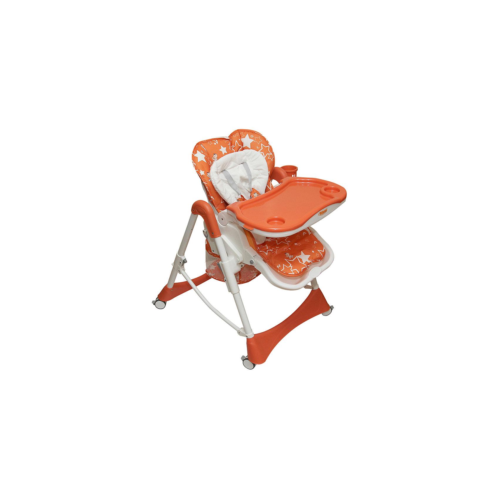 Стульчик для кормления Nana, Pituso, оранжевыйСтульчики для кормления<br>PITUSO Стул для кормления NANA, оранжевый ORANGE<br><br>Ширина мм: 750<br>Глубина мм: 500<br>Высота мм: 330<br>Вес г: 10200<br>Возраст от месяцев: 6<br>Возраст до месяцев: 36<br>Пол: Унисекс<br>Возраст: Детский<br>SKU: 5582110