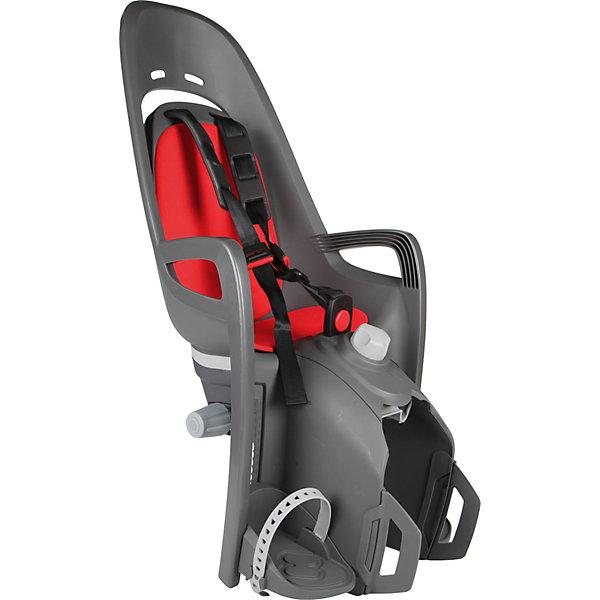 Детское велокресло 2017 Siesta W/Carrier Adapter, Hamax, серый-красный