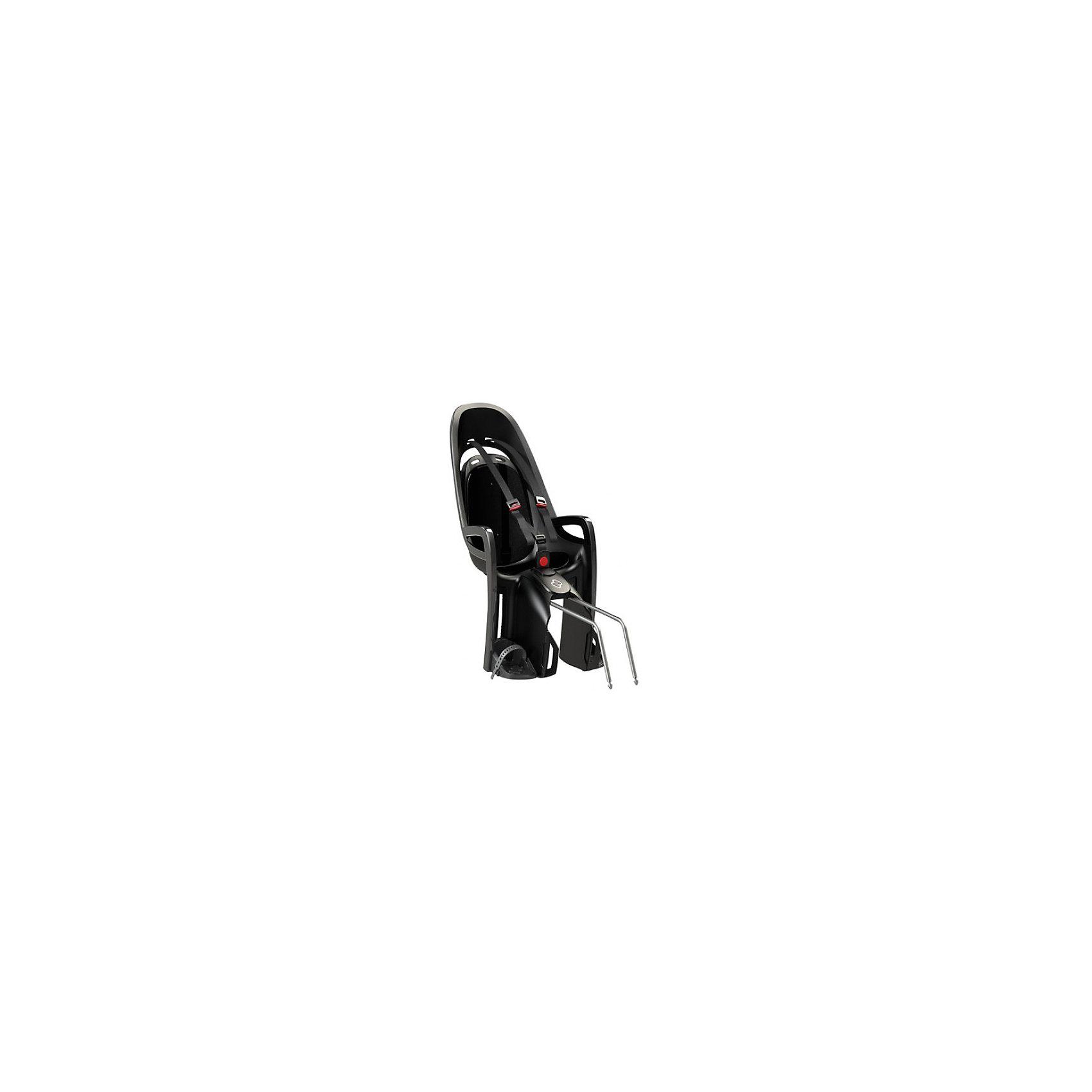 Детское велокресло Caress Zenith, Hamax, серый/черныйАксеcсуары для велосипедов<br>Характеристики товара:<br><br>• цвет: серый, черный<br>• проработанная эргономика кресла для максимально комфортной посадки<br>• 3-точечные ремни безопасности<br>• специальная конструкция пряжек ремней безопасности/фиксации для предотвращения саморастегивания ребенка<br>• простое в использование, полностью соответствующее всем Европейским стандартам безопасности<br>• крепится только  на багажники Hamax (в комплект не входит)<br>• предназначено для детей в возрасте старше 9 месяцев и весом до 22 кг<br>• регулируемый ремень безопасности и подножки<br>• встроенные отражатели для улучшения видимости кресла<br>• мягкие плечевые пряжки ремней<br>• велокресло сертифицировано по: T?V / GS EN14344<br>• вес: 3500гр.<br>• размер: 37х80х34см<br><br>Мягкие пряжки для фиксации ребенка в кресле очень легкие и комфортные, но при этом обеспечивают надежную фиксацию ребенка в велокресле.<br><br>Эргономика велокресла рассчитана так что спинка кресла не будет мешать голове ребенка в моменты когда он хочет откинуться назад кресла в шлеме.<br><br>Механизмы регулировки застежек позволяют комфортно отрегулировать их вместе с ростом ребенка.<br><br>Все детские велосидения Hamax растут вместе с ребенком!  Регулируемые ремень безопасности и подножки.<br><br>Детское сиденье для велосипеда очень легко крепится и освобождается от велосипеда. Приобретая дополнительный кронштейн, вы можете легко переставлять детское сиденье с одного велосипеда на другой.<br><br>Не забудьте: ребенок должен всегда носить шлем при использовании детского сиденья.<br><br>Детское велокресло Caress Zenith, Hamax, серый/черный можно купить в нашем интернет-магазине.<br><br>Ширина мм: 370<br>Глубина мм: 800<br>Высота мм: 340<br>Вес г: 3500<br>Возраст от месяцев: 9<br>Возраст до месяцев: 48<br>Пол: Унисекс<br>Возраст: Детский<br>SKU: 5582617