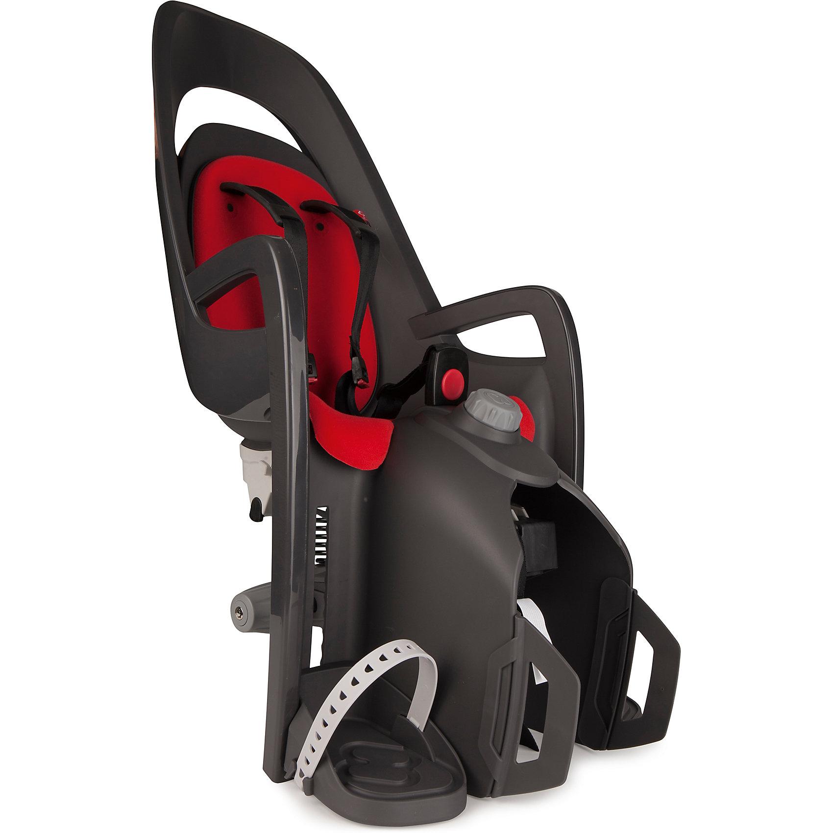 Детское велокресло Caress W/Carrier Adapter, Hamax, серый/красныйАксеcсуары для велосипедов<br>Детское кресло, которое можно установить на велосипед с рамой 28-40мм<br>Адаптер для установки в комплекте<br>Может быть установлен на электровелосипед<br>Вес ребенка: не более 25-30 кг. Рост ребенка: 120-180см<br>Есть положение сон<br>Диаметр труб: 10-20 мм<br>Простой монтаж.<br><br>Ширина мм: 365<br>Глубина мм: 940<br>Высота мм: 280<br>Вес г: 5150<br>Возраст от месяцев: 9<br>Возраст до месяцев: 48<br>Пол: Унисекс<br>Возраст: Детский<br>SKU: 5582618