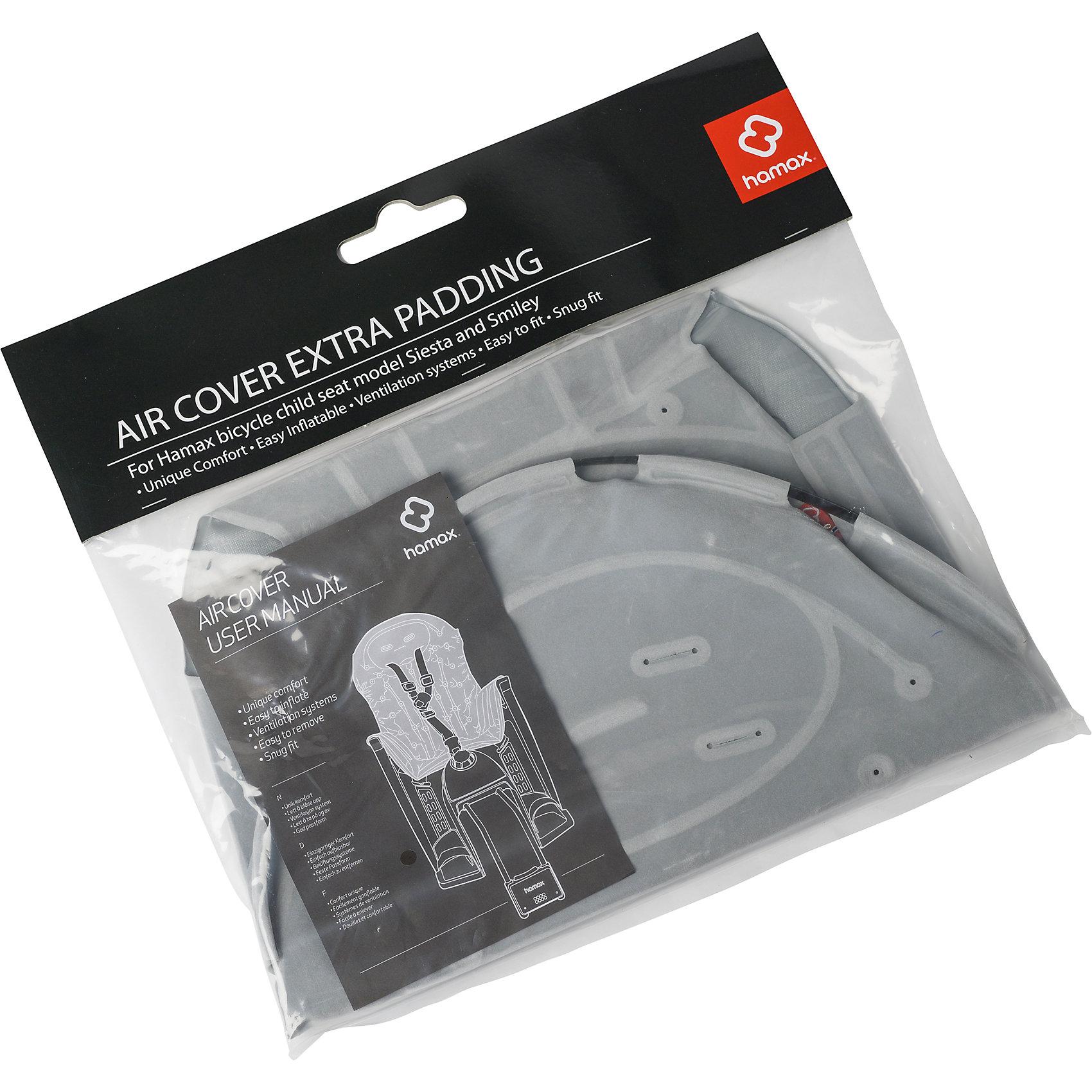 Вкладыш AIR Cover Smiley/Siesta, Hamax, серыйАксеcсуары для велосипедов<br>Характеристики товара:<br><br>• цвет: серый<br>• дышащая ткань<br>• материал легко моется.<br>• отверстия для вентиляции<br>• материал: металл, текстиль<br>• размер: 46х28х3см<br>• страна бренда: Польша<br>• страна производитель: Китай<br><br>Вкладыш AIR Cover Smiley/Siesta, Hamax, серый можно купить в нашем интернет-магазине.<br><br>Ширина мм: 240<br>Глубина мм: 20<br>Высота мм: 400<br>Вес г: 370<br>Возраст от месяцев: 9<br>Возраст до месяцев: 48<br>Пол: Унисекс<br>Возраст: Детский<br>SKU: 5582624