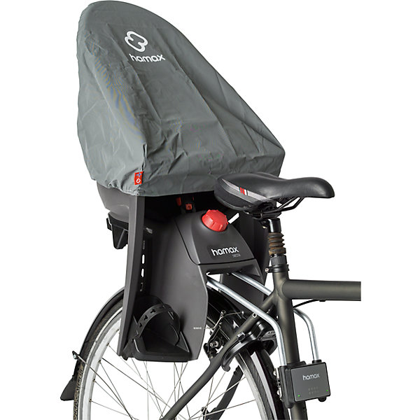 Чехол на велокресло Rain Cover, Hamax, серый, Китай, Унисекс  - купить со скидкой