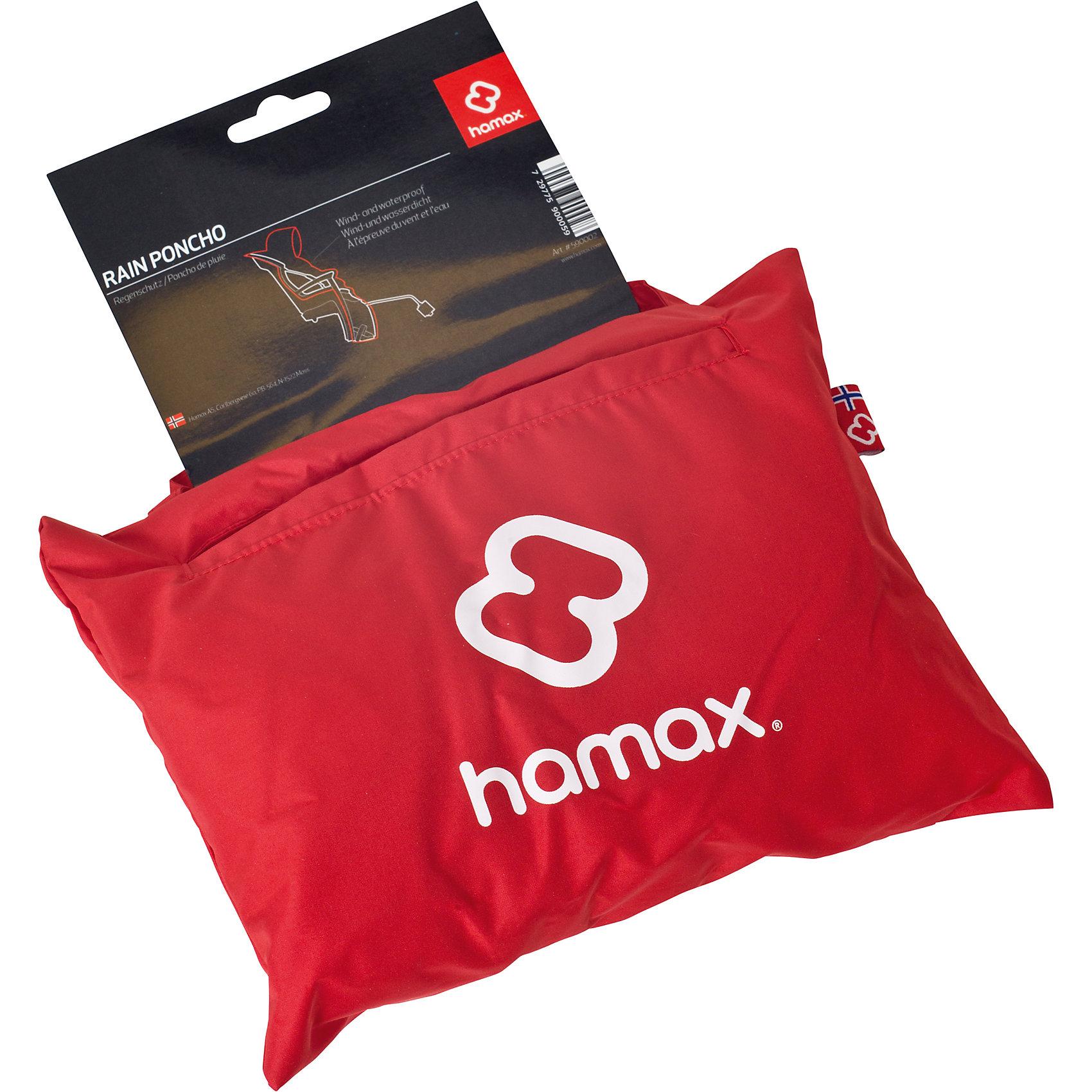 Дождевик Rain Poncho, Hamax, красныйАксеcсуары для велосипедов<br>Характеристики товара:<br><br>• цвет: красный<br>• защитит от дождя во время прогулки<br>• материал легко моется<br>• страна бренда: Польша<br>• страна производитель: Китай<br><br>Дождевик Rain Poncho, Hamax, красный можно купить в нашем интернет-магазине.<br><br>Ширина мм: 270<br>Глубина мм: 50<br>Высота мм: 210<br>Вес г: 233<br>Возраст от месяцев: 9<br>Возраст до месяцев: 48<br>Пол: Унисекс<br>Возраст: Детский<br>SKU: 5582626