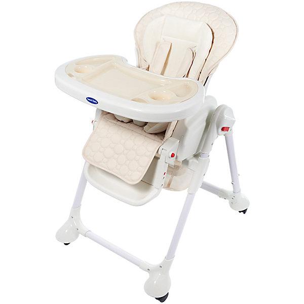 Стульчик для кормления Luxor Classic, Sweet Baby, CreamХиты продаж<br>Характеристика товара:<br><br>• цвет: Cream (кремовый)<br>• используется в качестве стульчика для кормления или шезлонга для сна<br>• наклон спинки регулируется, устанавливается в горизонтальное положение<br>• регулируемая по высоте спинка (5 уровней)<br>• угол наклона спинки регулируется (3 положения)<br>• регулируемая длина подножки (3 уровня)<br>• чехол из экокожи<br>• вкладыш из мягкой гипоаллергенной ткани, который легко снимается<br>• сетчато-текстильная корзина для аксессуаров<br>• 5-точечные ремни безопасности с надежным замком и мягкими накладками<br>• 3 позиции глубины и высоты подноса<br>• съемная верхняя накладка на поднос и 2 углубления для посуды<br>• 4 колеса со стоперами<br>• компактные размеры и устойчивость в сложенном виде<br>• возраст: от 0 месяцев<br>• материал рамы: металл, пластик<br>• страна производства: Китай<br>• вес: 15 кг<br>• размер упаковки: 91х30х65 см<br><br>Стульчик для кормления Sweet Baby Luxor Classic с уникальной функцией –<br>ручным механизмом качания!<br><br>Компактный стульчик для кормления теперь может быть и кроваткой – Вы сможете заняться любым делом, параллельно убаюкивая своего малыша.<br><br>Стульчик легко перемещается, а это значит, что Вы сможете убаюкать крошку там, где Вам удобно.<br><br>Стульчик для кормления Luxor Classic, Sweet Baby, Cream можно купить в нашем интернет-магазине.<br>Ширина мм: 640; Глубина мм: 910; Высота мм: 300; Вес г: 17400; Возраст от месяцев: 0; Возраст до месяцев: 36; Пол: Унисекс; Возраст: Детский; SKU: 5583542;