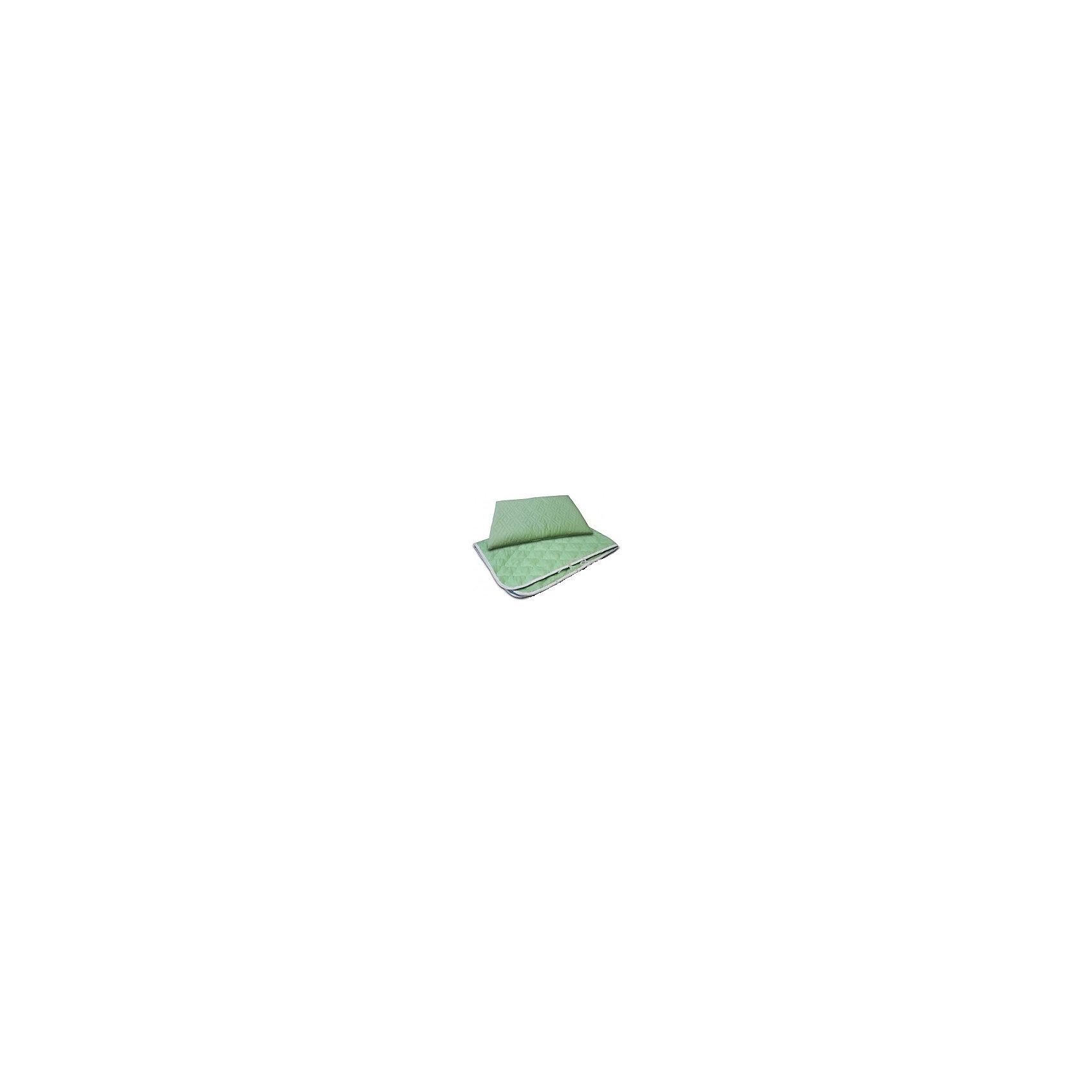 Комплект (одеяло+подушка) Бамбук SB-BP10, Sweet BabyПодушки<br>Характеристики товара:<br>• цвет: зеленый<br>• сезон: всесезонное<br>• комплект: одеяло, подушка<br>• наполнитель: бамбуковое волокно<br>• ткань: микрофайбер стеганый<br>• размер одеяла: 110х140 см<br>• размер подушки: 40х60 см<br>• рекомендована ручная стирка при 40? С<br><br>Комплект (одеяло+подушка) Бамбук, Sweet Babyможно купить в нашем интернет-магазине.<br><br>Ширина мм: 400<br>Глубина мм: 200<br>Высота мм: 600<br>Вес г: 1500<br>Возраст от месяцев: 0<br>Возраст до месяцев: 36<br>Пол: Унисекс<br>Возраст: Детский<br>SKU: 5583590