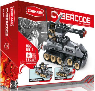 Конструктор Tank Firestorm , 84 детали, Zormaer