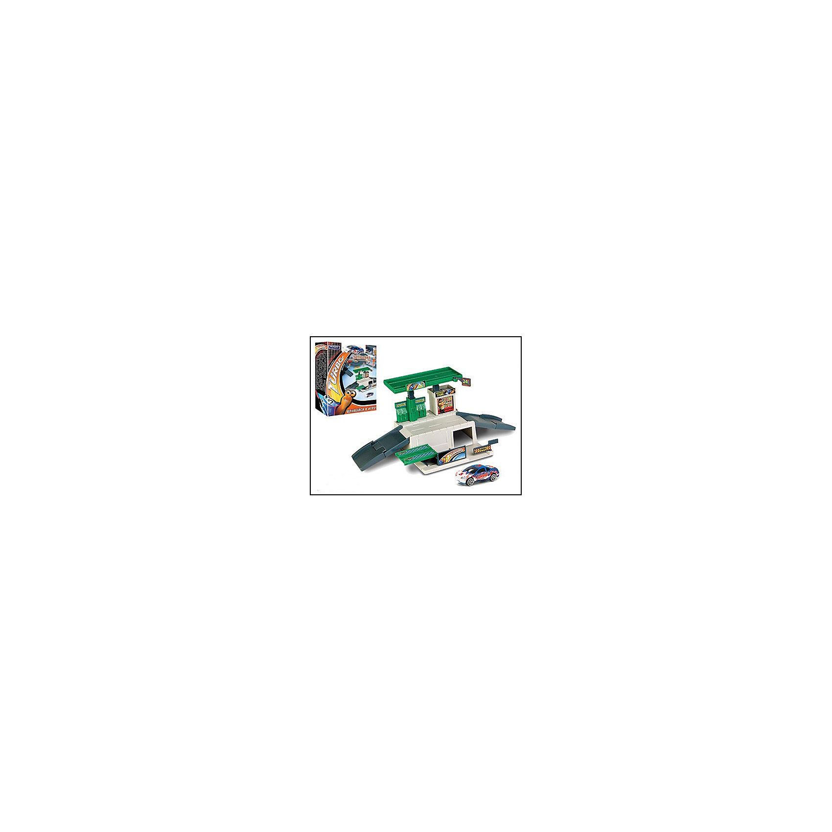 Набор Megapolis Turbo заправка с машинкой, 1:60, AutotimeМашинки<br>Набор Megapolis Turbo заправка с машинкой, 1:60, Autotime (Автотайм).<br><br>Характеристики:<br><br>• В наборе: элементы для сборки заправки, металлическая машинка, наклейки<br>• Масштаб 1:60<br>• Уменьшенная копия настоящей заправочной станции<br>• Равномерное окрашивание элементов, отсутствие острых углов и краев<br>• Высокое качество литья деталей<br>• Легкая сборка<br>• Материал: металл, прочный пластик<br>• Упаковка: картонная коробка<br>• Размер упаковки: 21,5х15,5х6,5 см.<br><br>Постройте свою собственную заправку с платформой для заезда и выезда, бензиновыми колонками, гаражом со шлагбаумом и дорожным мини-магазинчиком! Заправляйте бензином и паркуйте в гараже не только машинку из набора, но и весь свой автопарк моделек, подходящих по размеру! Набор совместим с другими наборами из серии Мегаполис.<br><br>Набор Megapolis Turbo заправку с машинкой, 1:60, Autotime (Автотайм) можно купить в нашем интернет-магазине.<br><br>Ширина мм: 350<br>Глубина мм: 120<br>Высота мм: 158<br>Вес г: 288<br>Возраст от месяцев: 36<br>Возраст до месяцев: 2147483647<br>Пол: Мужской<br>Возраст: Детский<br>SKU: 5583854