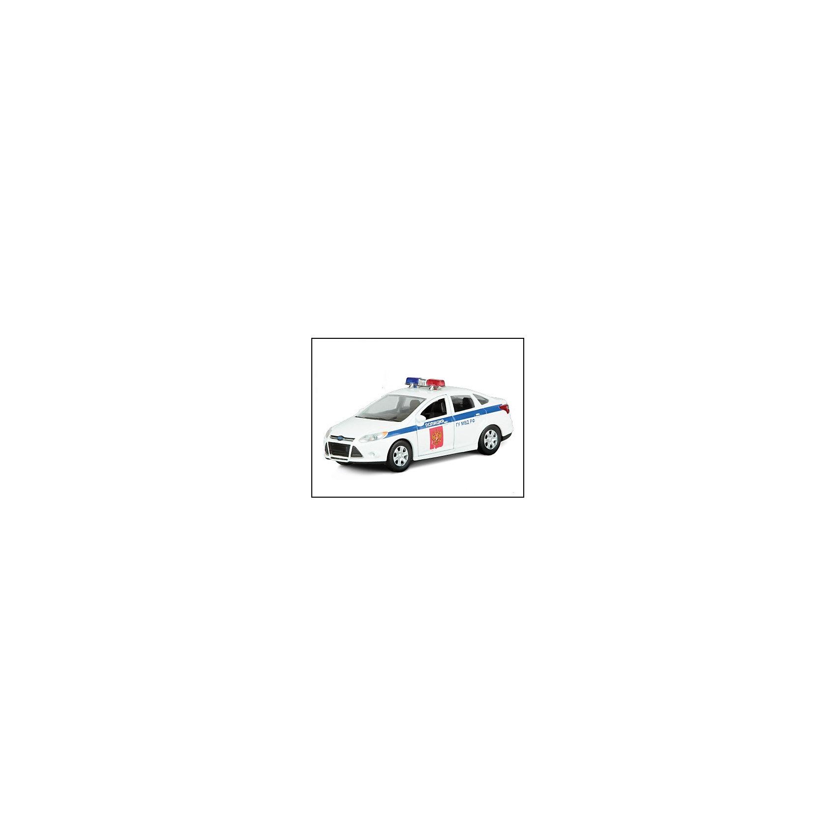Машинка Ford Focus полиция 1:36, AutotimeМашинки<br>Машинка Ford Focus полиция 1:36, Autotime (Автотайм).<br><br>Характеристики:<br><br>• Масштаб 1:36<br>• Материал: металл, пластик<br>• Цвет: белый<br>• Упаковка: картонная коробка блистерного типа<br>• Размер упаковки: 16,5x5,7x7,2 см.<br><br>Машинка Ford Focus полиция от Autotime (Автотайм) является уменьшенной копией полицейского автомобиля. Модель машины с маркировкой Главного управления Министерства внутренних дел, оборудованная спецсигналами на крыше, отличается высокой степенью детализации. Корпус машинки изготовлен из металла, а все дополнительные элементы из пластика. Передние двери открываются, что позволяет рассмотреть салон изнутри в деталях. Машинка оснащена инерционным механизмом. Машинка Ford Focus полиция станет хорошим подарком и ребенку, и коллекционеру моделей автомобилей.<br><br>Машинку Ford Focus полиция 1:36, Autotime (Автотайм) можно купить в нашем интернет-магазине.<br><br>Ширина мм: 165<br>Глубина мм: 57<br>Высота мм: 75<br>Вес г: 13<br>Возраст от месяцев: 36<br>Возраст до месяцев: 2147483647<br>Пол: Мужской<br>Возраст: Детский<br>SKU: 5583862