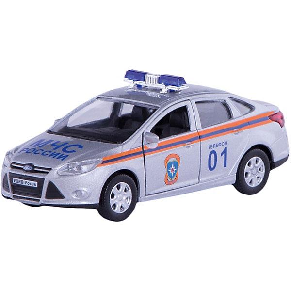 Машинка Ford Focus МЧС 1:36, AutotimeМашинки<br>Машинка Ford Focus МЧС 1:36, Autotime (Автотайм).<br><br>Характеристики:<br><br>• Масштаб 1:36<br>• Материал: металл, пластик<br>• Цвет: серебристый<br>• Упаковка: картонная коробка блистерного типа<br>• Размер упаковки: 16,5x5,7x7,2 см.<br><br>Машинка Ford Focus МЧС от Autotime (Автотайм) является уменьшенной копией служебного автомобиля министерства по чрезвычайным ситуациям. Модель машины с маркировкой МЧС России, оборудованная спецсигналами на крыше, отличается высокой степенью детализации. Корпус машинки изготовлен из металла, а все дополнительные элементы из пластика. Передние двери открываются, что позволяет рассмотреть салон изнутри в деталях. Машинка оснащена инерционным механизмом. Машинка Ford Focus МЧС станет хорошим подарком и ребенку, и коллекционеру моделей автомобилей.<br><br>Машинку Ford Focus МЧС 1:36, Autotime (Автотайм) можно купить в нашем интернет-магазине.<br>Ширина мм: 165; Глубина мм: 57; Высота мм: 75; Вес г: 13; Возраст от месяцев: 36; Возраст до месяцев: 2147483647; Пол: Мужской; Возраст: Детский; SKU: 5583863;