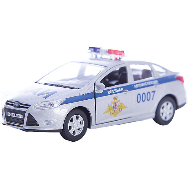 Машинка Ford Focus ВАИ 1:36, AutotimeМашинки<br>Машинка Ford Focus ВАИ 1:36, Autotime (Автотайм).<br><br>Характеристики:<br><br>• Масштаб 1:36<br>• Материал: металл, пластик<br>• Цвет: серебристый<br>• Упаковка: картонная коробка блистерного типа<br>• Размер упаковки: 16,5x5,7x7,2 см.<br><br>Машинка Ford Focus ВАИ от Autotime (Автотайм) является уменьшенной копией автомобиля Военной автомобильной инспекции Вооруженных Сил Российской Федерации. Модель с символикой Военной автомобильной инспекции, оборудованная красно-синими спецсигналами на крыше, отличается высокой степенью детализации. Корпус машинки изготовлен из металла, а все дополнительные элементы из пластика. Передние двери открываются, что позволяет рассмотреть салон изнутри в деталях. Машинка оснащена инерционным механизмом. Машинка Ford Focus ВАИ станет хорошим подарком и ребенку, и коллекционеру моделей автомобилей.<br><br>Машинку Ford Focus ВАИ 1:36, Autotime (Автотайм) можно купить в нашем интернет-магазине.<br>Ширина мм: 165; Глубина мм: 57; Высота мм: 75; Вес г: 13; Возраст от месяцев: 36; Возраст до месяцев: 2147483647; Пол: Мужской; Возраст: Детский; SKU: 5583865;