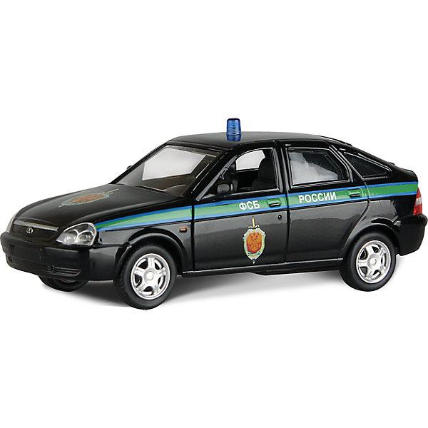 Машинка Lada Priora ФСБ России 1:36, AutotimeМашинки<br>Характеристики товара:<br><br>• цвет: зеленый<br>• материал: металл, пластик<br>• размер: 16,5х7,х5,7 см<br>• вес: 100 г<br>• масштаб: 1:36<br>• прочный материал<br>• хорошая детализация<br>• открываются двери<br>• страна бренда: Россия<br>• страна производства: Китай<br><br>Коллекционная машинка LADA Priora ФСБ России от бренда AUTOTIME станет отличным подарком для мальчика. Подробная детализация машинки порадует увлеченного коллекционера, а открывающиеся двери и свободно вращающиеся колеса придутся по душе юному владельцу игрушечного гаража. Эта игрушка подарит восторг и радость вашему ребенку. <br><br>Игрушка также воздействует на наглядно-образное мышление, логическое мышление, развивает мелкую моторику. Изделие выполнено из сертифицированных материалов, безопасных для детей.<br><br>Машинку «Lada Priora» ФСБ России от бренда AUTOTIME можно купить в нашем интернет-магазине.<br><br>Ширина мм: 165<br>Глубина мм: 57<br>Высота мм: 75<br>Вес г: 13<br>Возраст от месяцев: 36<br>Возраст до месяцев: 2147483647<br>Пол: Мужской<br>Возраст: Детский<br>SKU: 5583900