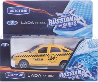 Машинка Lada Priora такси 1:36, Autotime