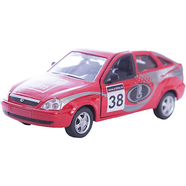 Машинка Lada Priora спорт 1:36, AutotimeМашинки<br>Характеристики товара:<br><br>• цвет: красный<br>• материал: металл, пластик<br>• размер: 16,5х7,х5,7 см<br>• вес: 100 г<br>• масштаб: 1:36<br>• прочный материал<br>• хорошая детализация<br>• открываются двери<br>• страна бренда: Россия<br>• страна производства: Китай<br><br>Коллекционная машинка LADA Priora спорт от бренда AUTOTIME станет отличным подарком для мальчика. Подробная детализация машинки порадует увлеченного коллекционера, а открывающиеся двери и свободно вращающиеся колеса придутся по душе юному владельцу игрушечного гаража. Эта игрушка подарит восторг и радость вашему ребенку. <br><br>Игрушка также воздействует на наглядно-образное мышление, логическое мышление, развивает мелкую моторику. Изделие выполнено из сертифицированных материалов, безопасных для детей.<br><br>Машинку «Lada Priora» спорт от бренда AUTOTIME можно купить в нашем интернет-магазине.<br><br>Ширина мм: 165<br>Глубина мм: 57<br>Высота мм: 75<br>Вес г: 13<br>Возраст от месяцев: 36<br>Возраст до месяцев: 2147483647<br>Пол: Мужской<br>Возраст: Детский<br>SKU: 5583904