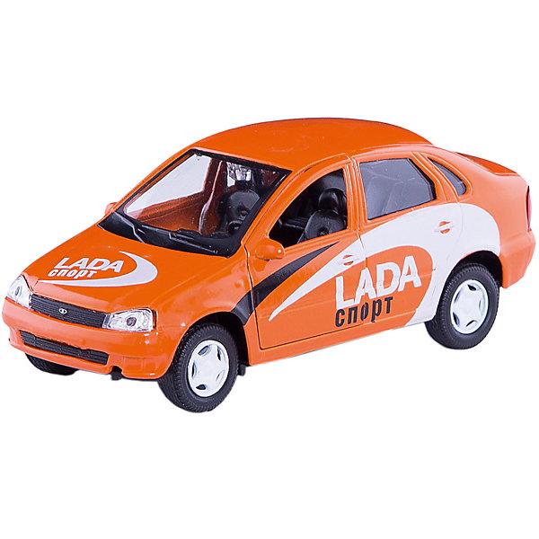 Машинка Lada Kalina спортверсия 1:34, AutotimeМашинки<br>Характеристики товара:<br><br>• цвет: бордовый<br>• материал: металл, пластик<br>• размер: 16,5х7,х5,7 см<br>• вес: 100 г<br>• масштаб: 1:34<br>• прочный материал<br>• хорошая детализация<br>• открываются двери<br>• страна бренда: Россия<br>• страна производства: Китай<br><br>Коллекционная машинка LADA Kalina спортверсия от бренда AUTOTIME станет отличным подарком для мальчика. Подробная детализация машинки порадует увлеченного коллекционера, а открывающиеся двери и свободно вращающиеся колеса придутся по душе юному владельцу игрушечного гаража. Эта игрушка подарит восторг и радость вашему ребенку. <br><br>Игрушка также воздействует на наглядно-образное мышление, логическое мышление, развивает мелкую моторику. Изделие выполнено из сертифицированных материалов, безопасных для детей.<br><br>Машинку «Lada Kalina» спортверсия от бренда AUTOTIME можно купить в нашем интернет-магазине.<br><br>Ширина мм: 165<br>Глубина мм: 57<br>Высота мм: 75<br>Вес г: 13<br>Возраст от месяцев: 36<br>Возраст до месяцев: 2147483647<br>Пол: Мужской<br>Возраст: Детский<br>SKU: 5583913
