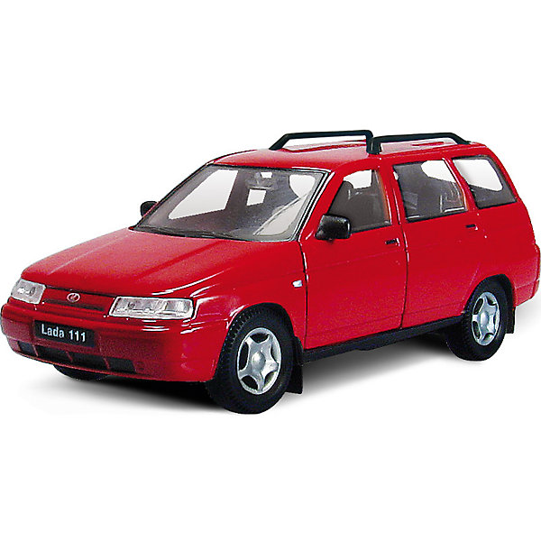 Машинка Lada 111 гражданская  1:36, Autotime