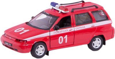 Машинка Lada 111 пожарная охрана 1:36, Autotime